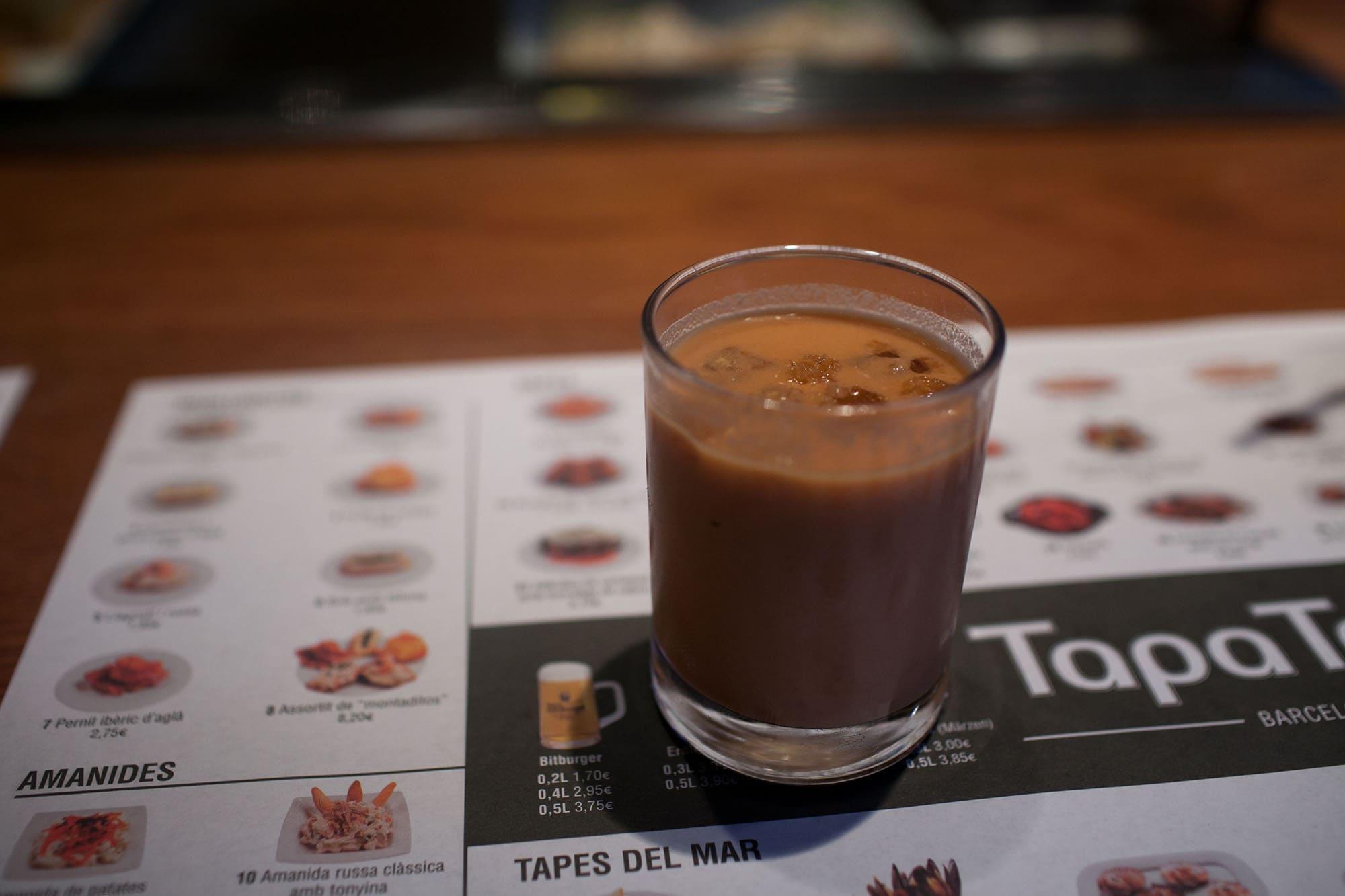 TapaTapa in Barcelona, Spain.
