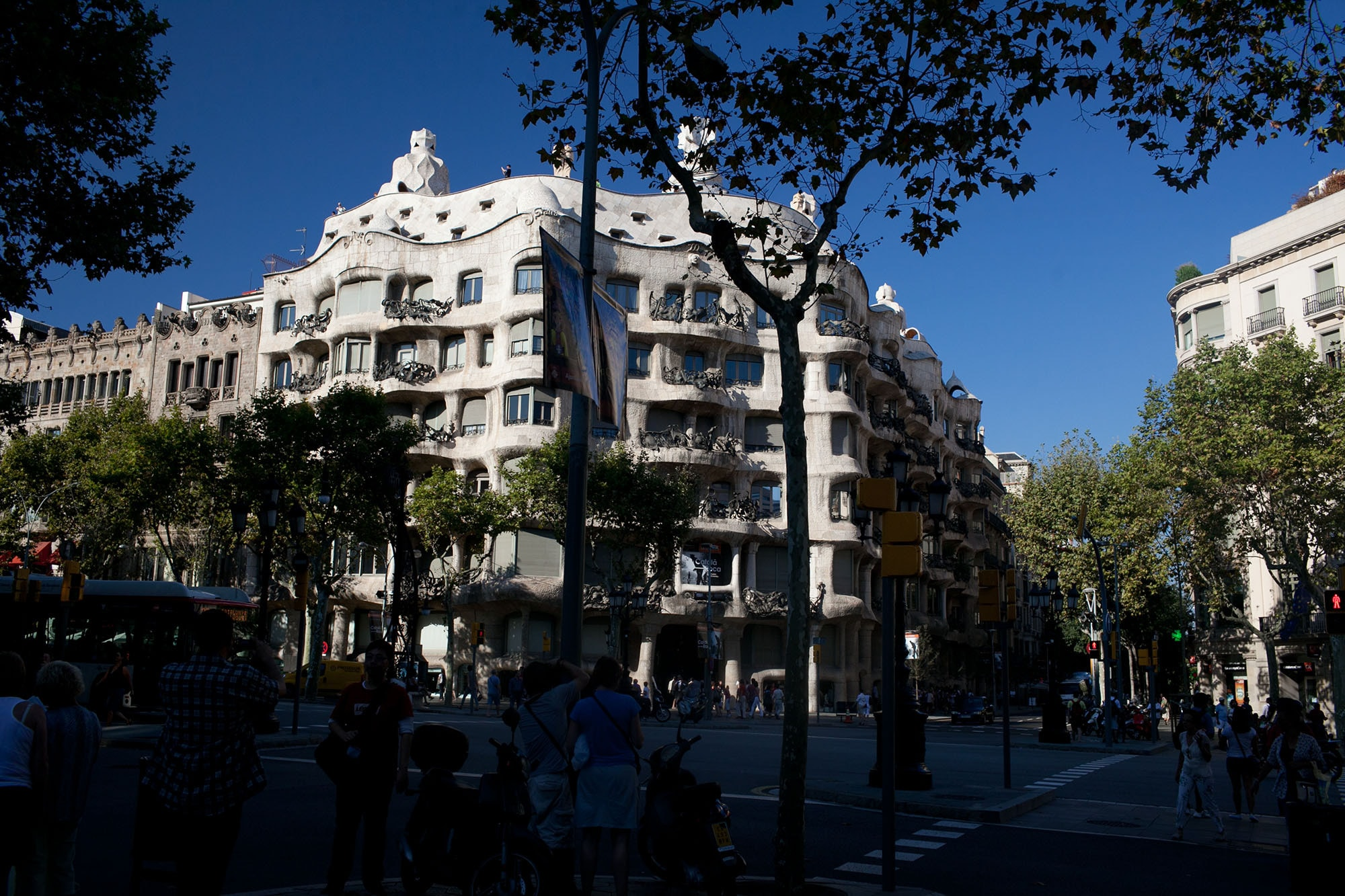 Gaudi walking tour in Barcelona, Spain