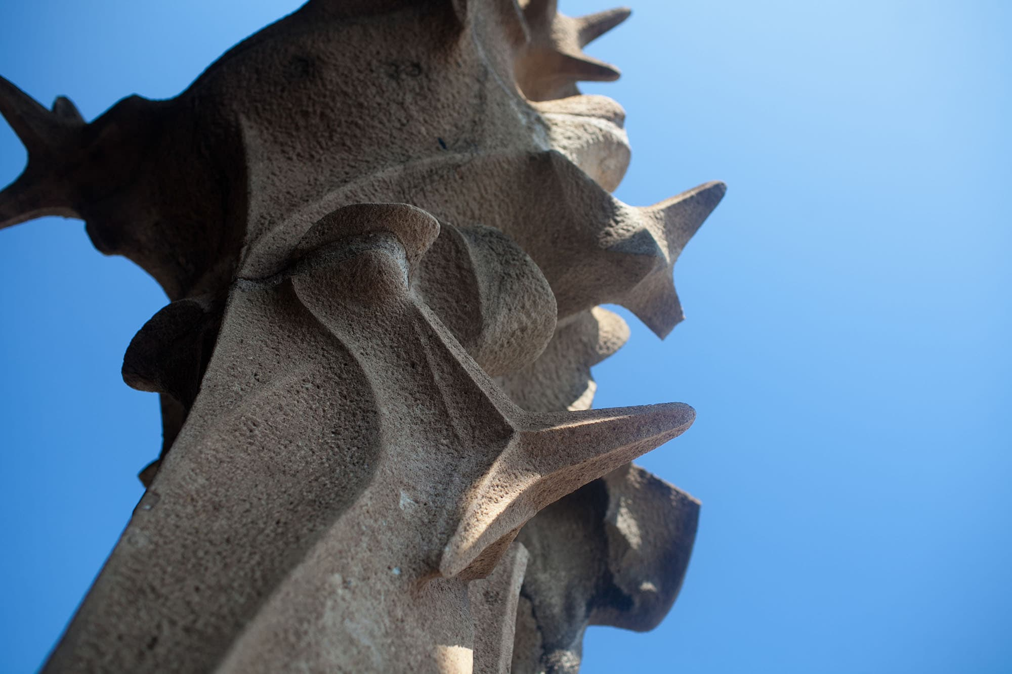 La Sagrada Família, Gaudi's unfinished cathedral in Barcelona, Spain