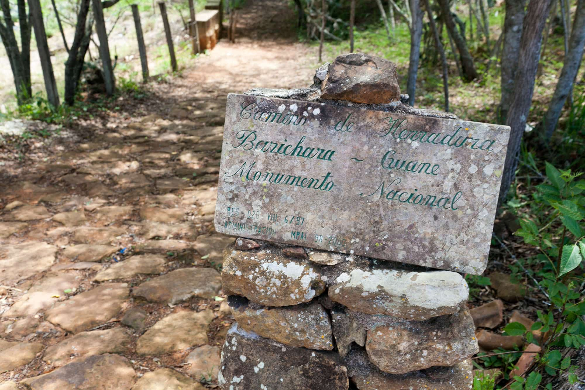 Camino Real - walking from Barichara to Guane, Colombia