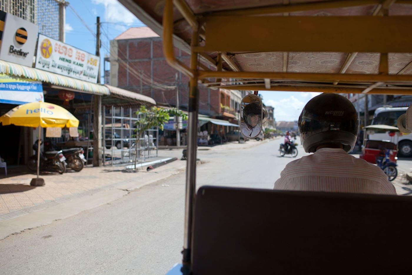 Things to do in Battambang, Cambodia - Tuk-tuk driver in Battambang, Cambodia
