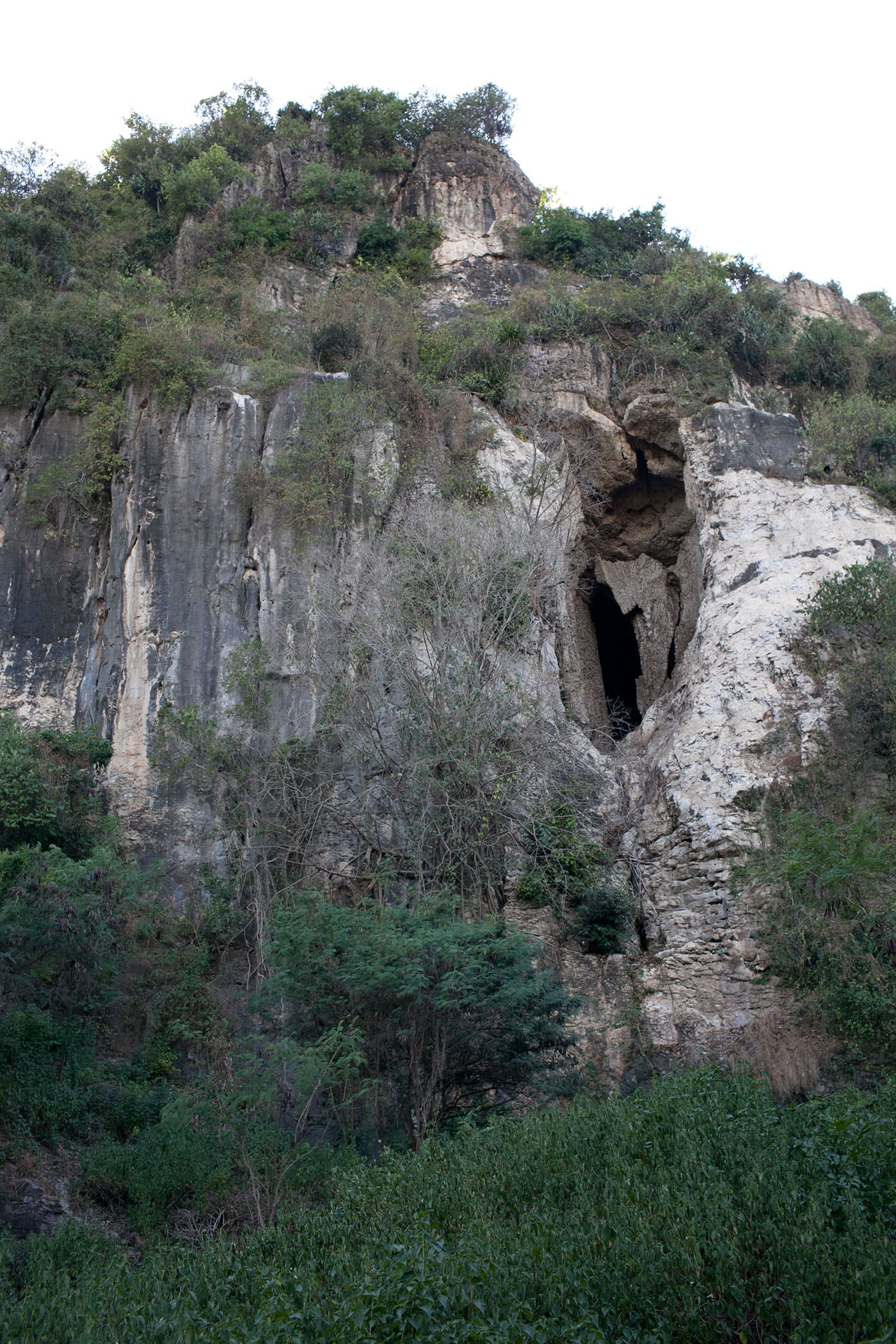Killing cave in Battambang, Cambodia