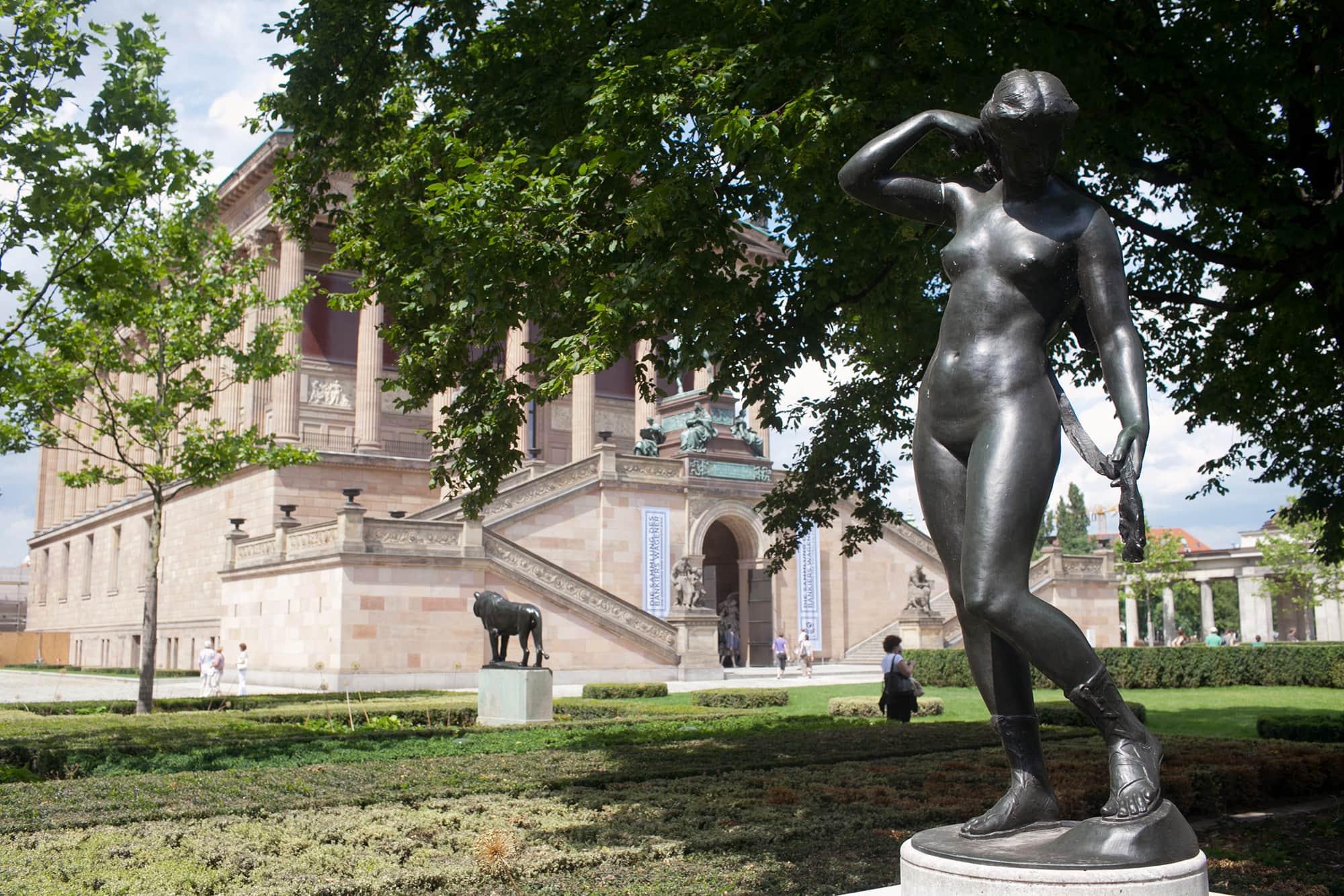 Alte Nationalgalerie.