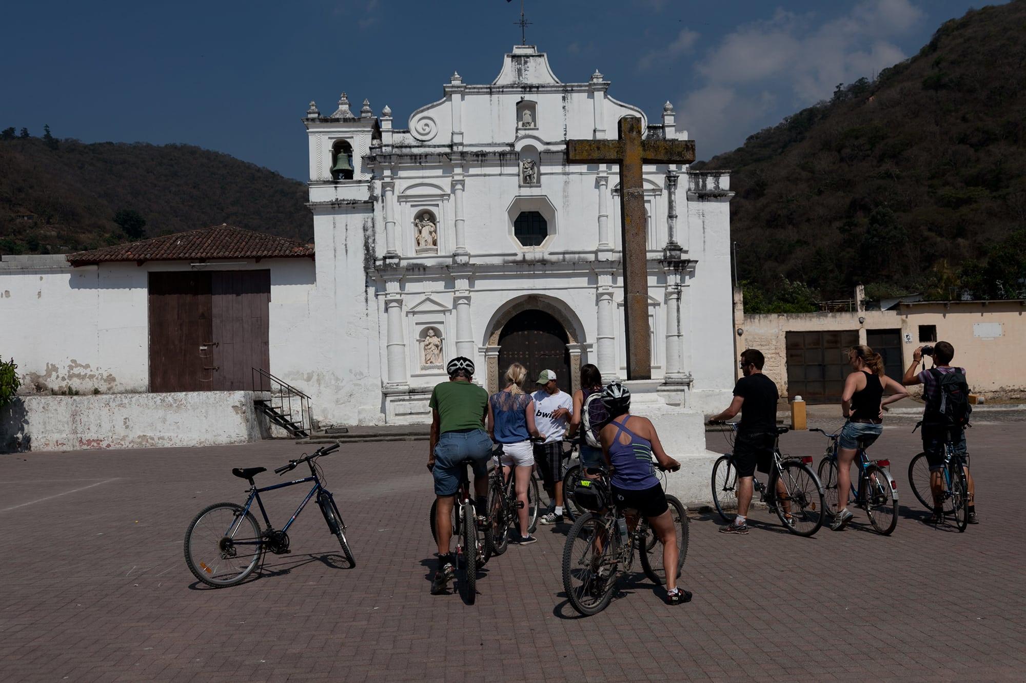 Bicycle tour of the villages around Antigua, Guatemala.