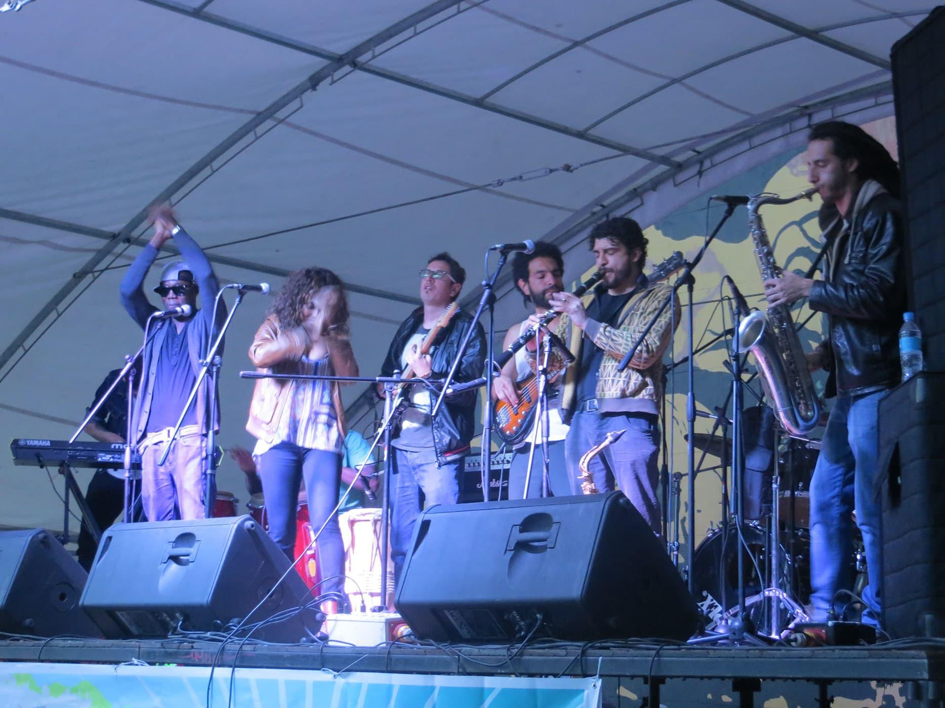 Bogata's birthday concert in Bogota, Colombia