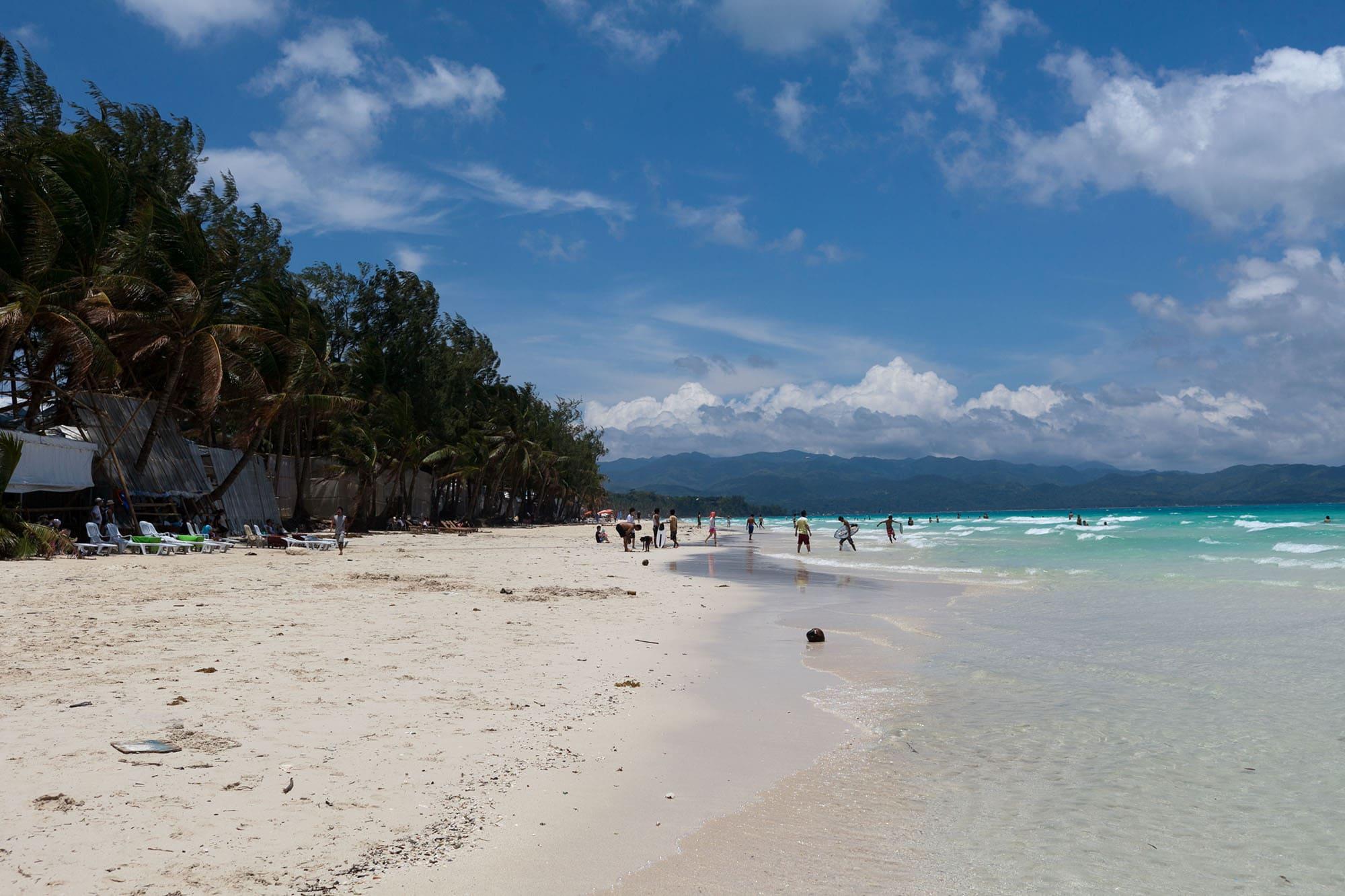 White Beach in Boracay, The Philippines