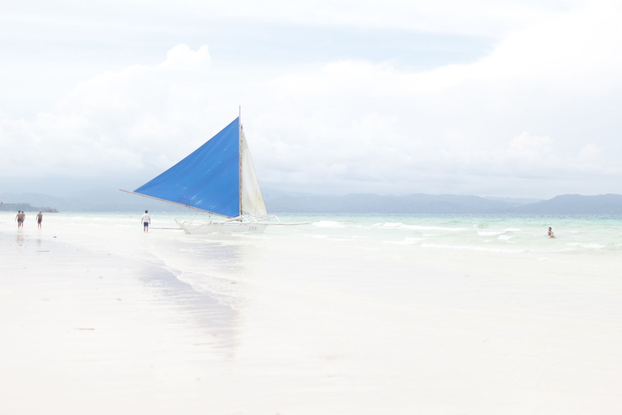 White Beach in Boracay, The Philippines