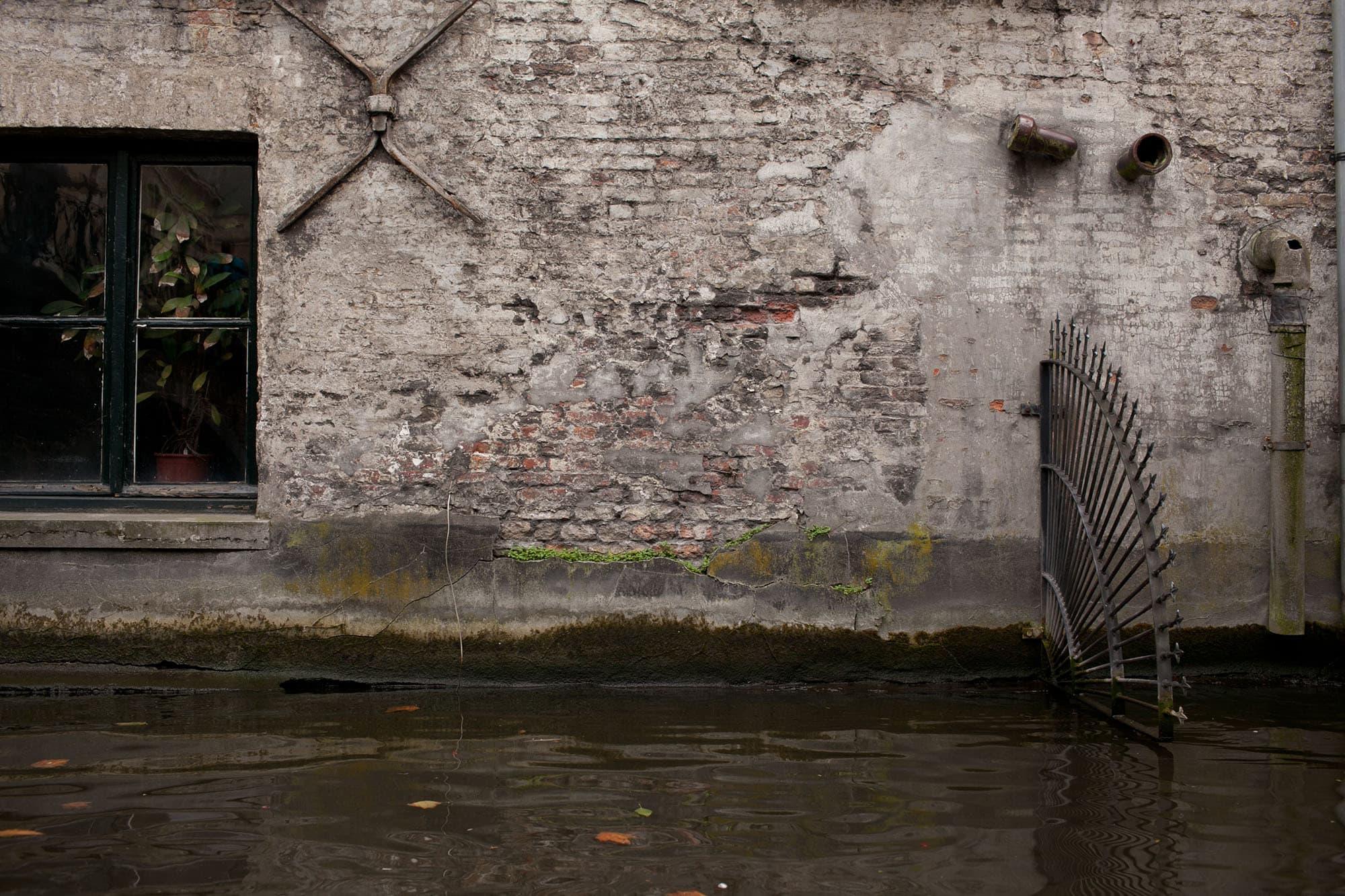 Canal tour in Bruges, Belgium