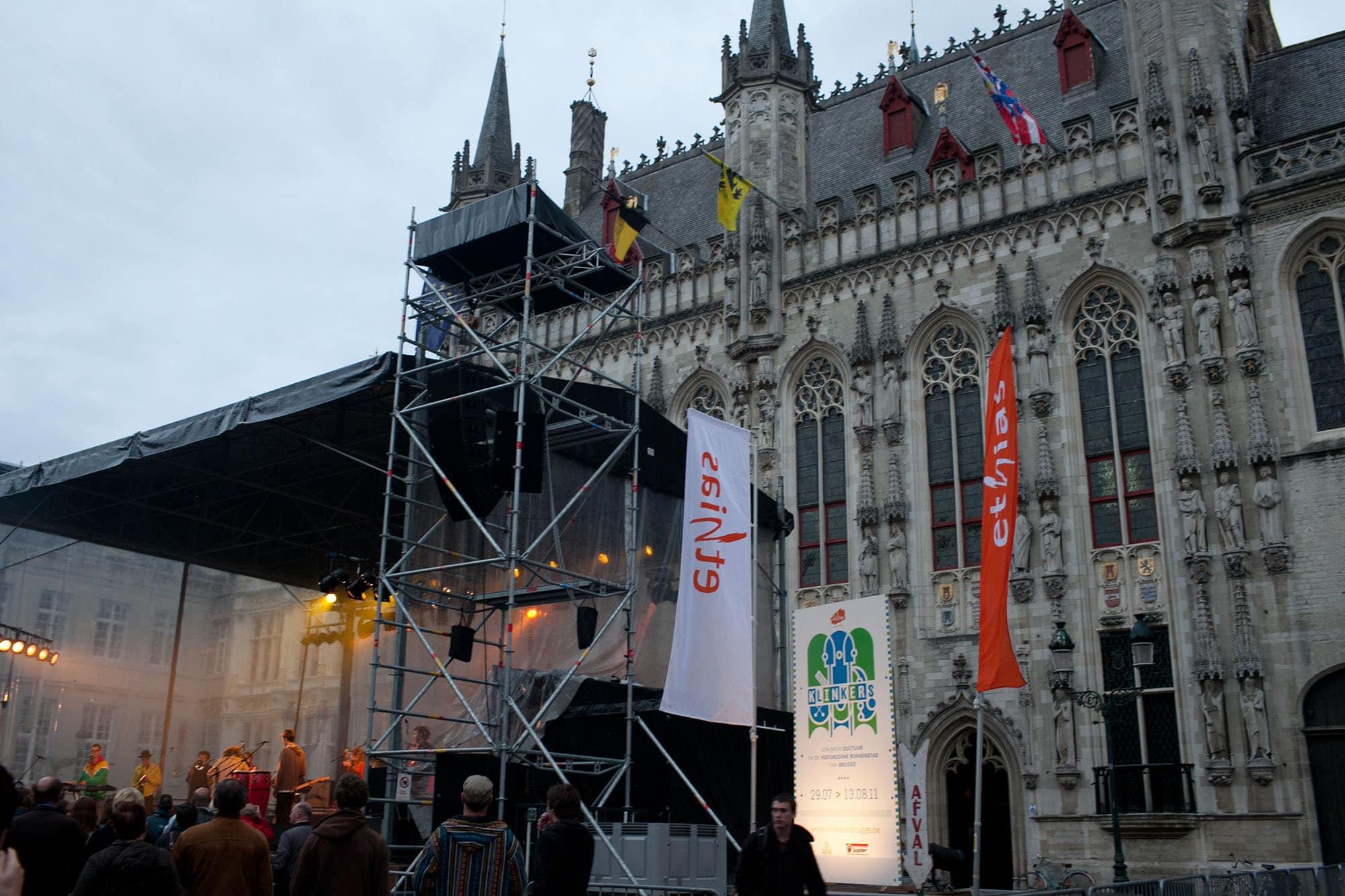 Reggae concert in Bruges, Belgium