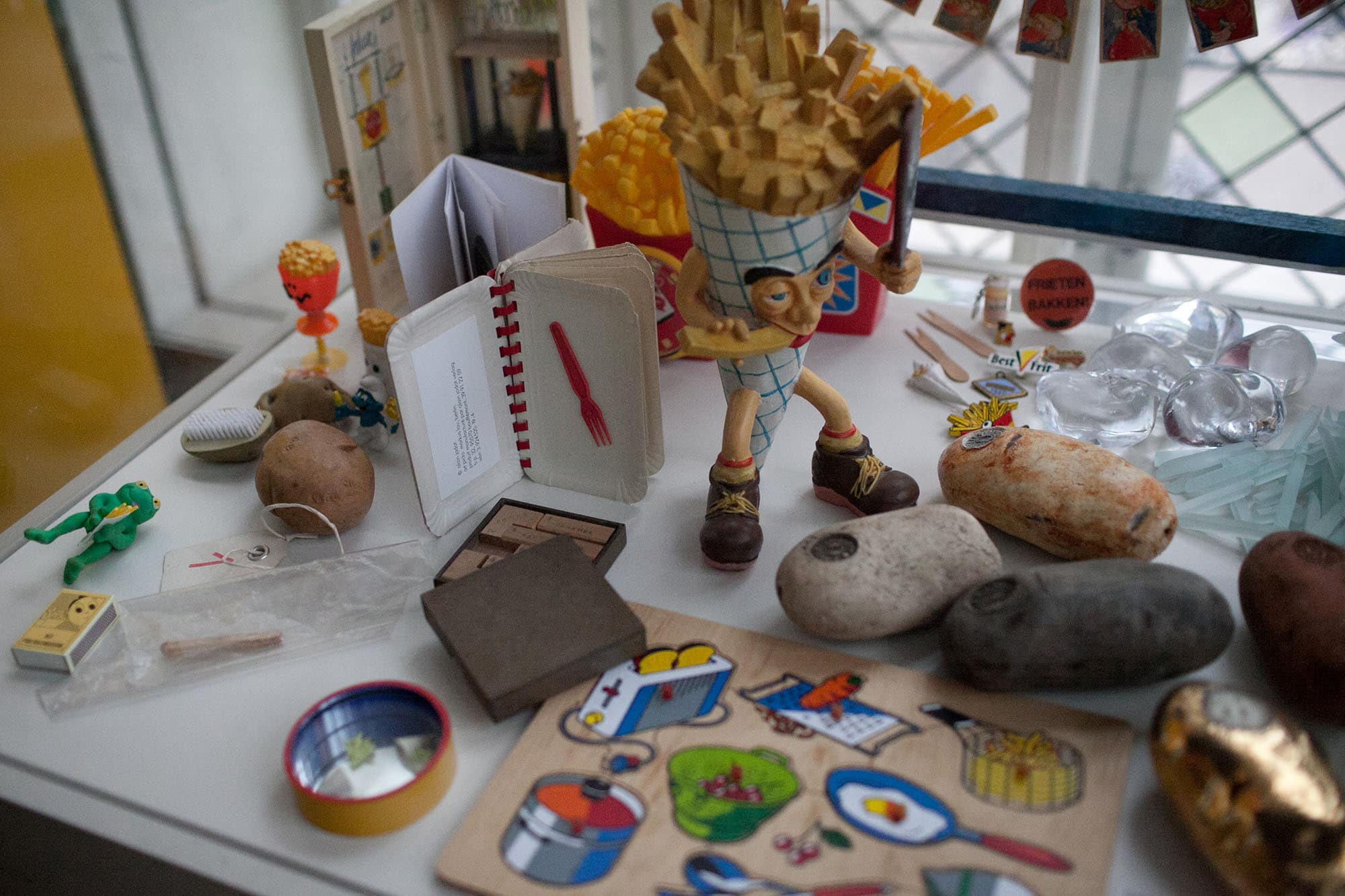 Friet Museum - french fry museum - in Bruges, Belgium