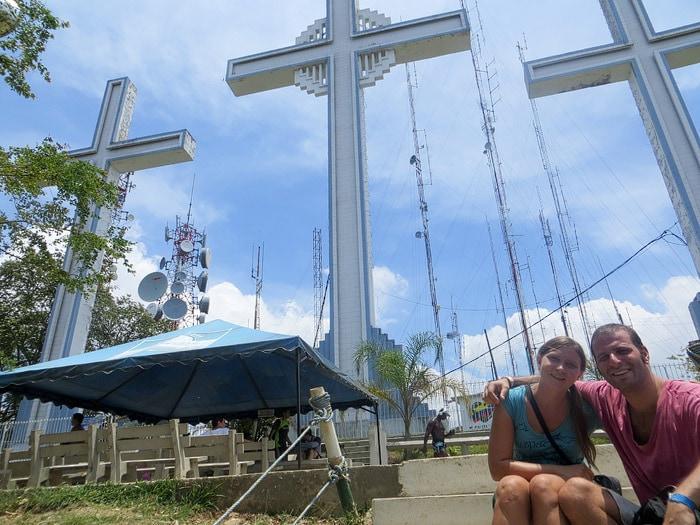 Cerro de las Tres Cruces in Cali, Colombia