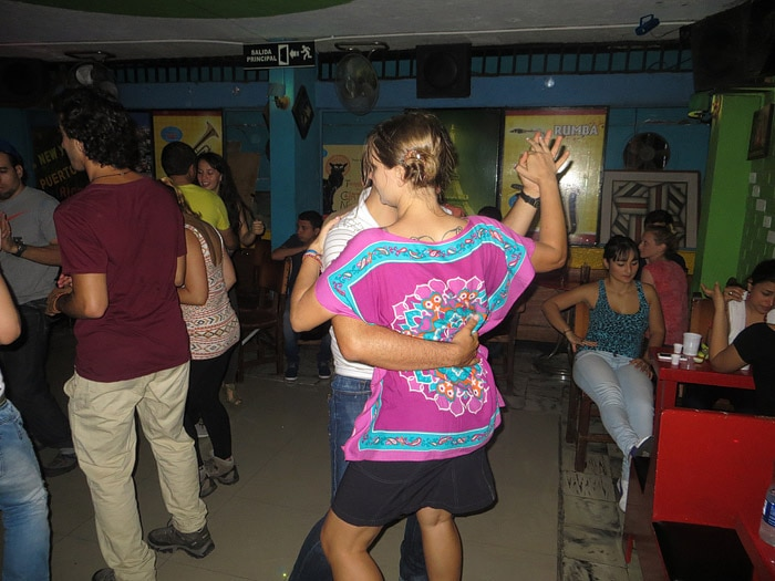 Learning to salsa dance in Cali, Colombia