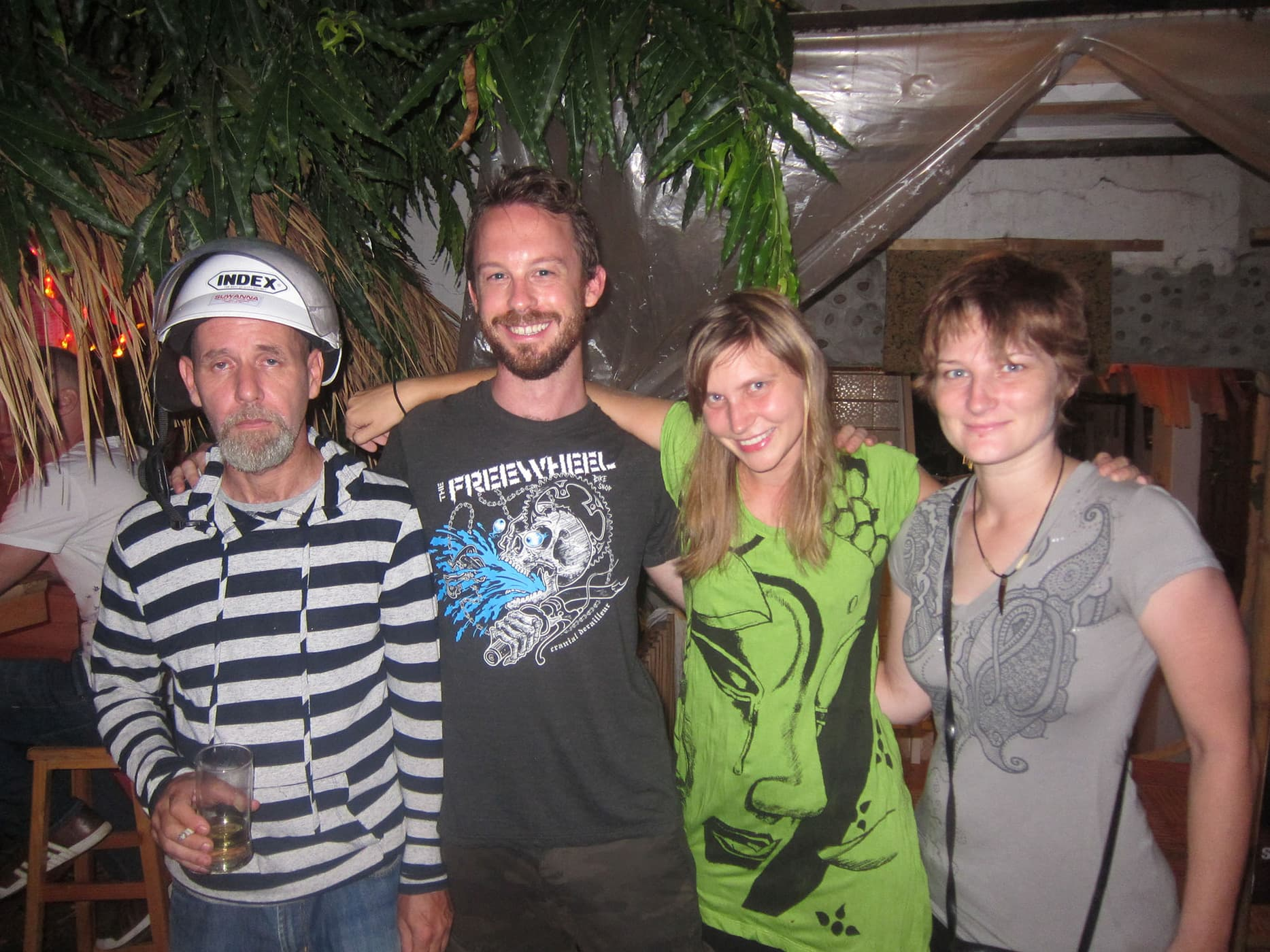 Celebrating one year of traveling in Chiang Mai, Thailand.