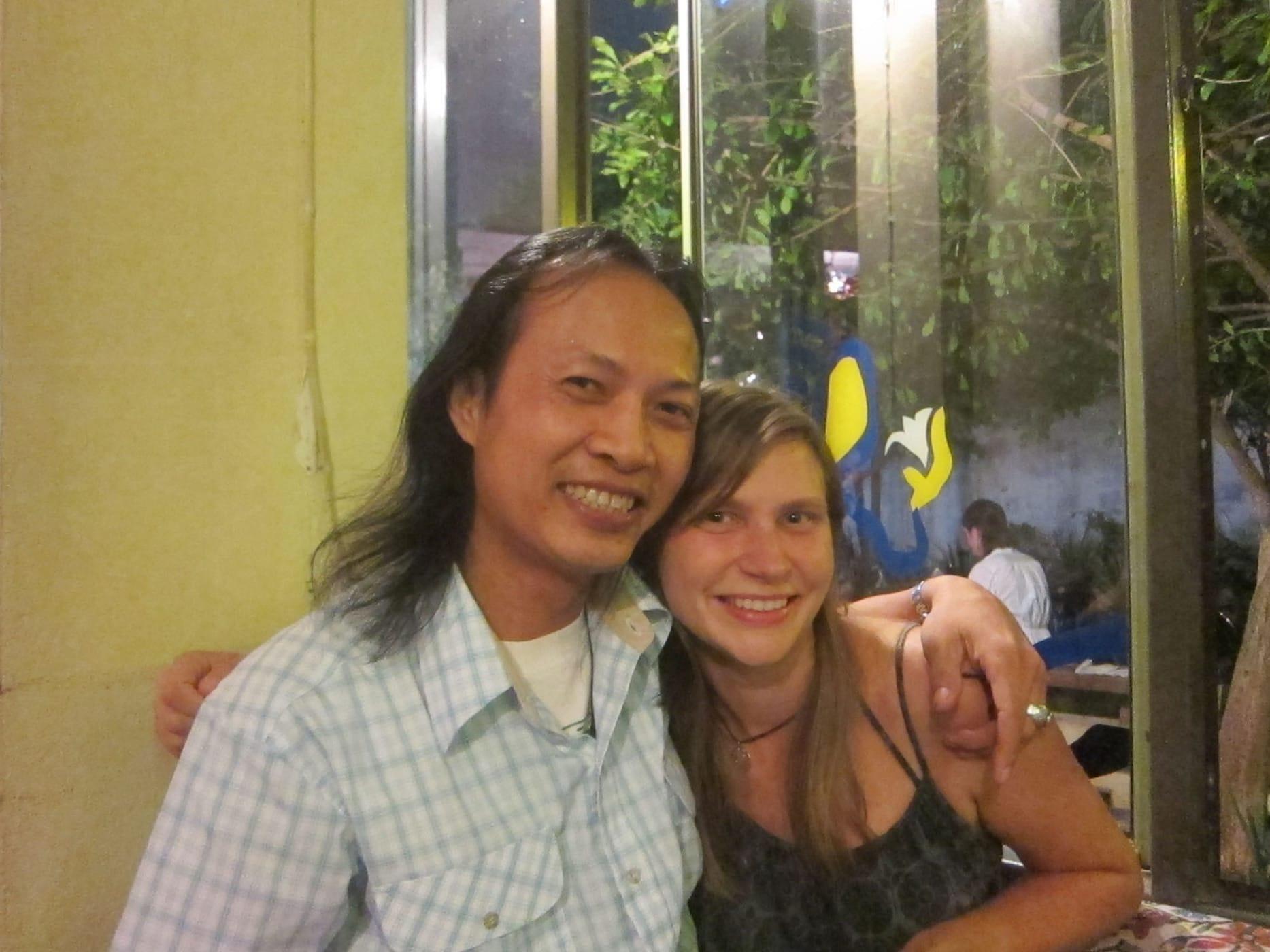Taku in Chiang Mai, Thailand.