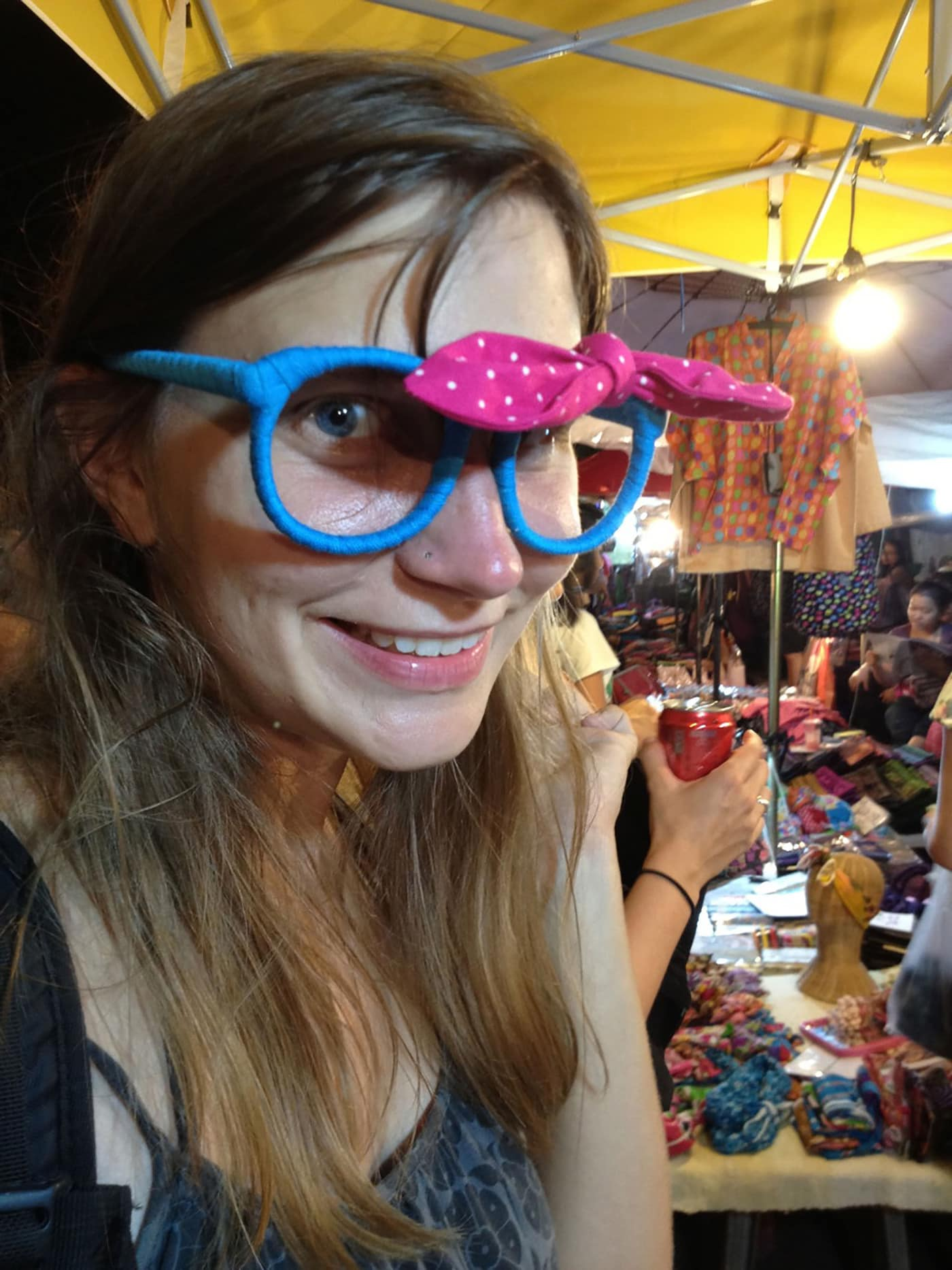 Woven glasses in Chiang Mai, Thailand