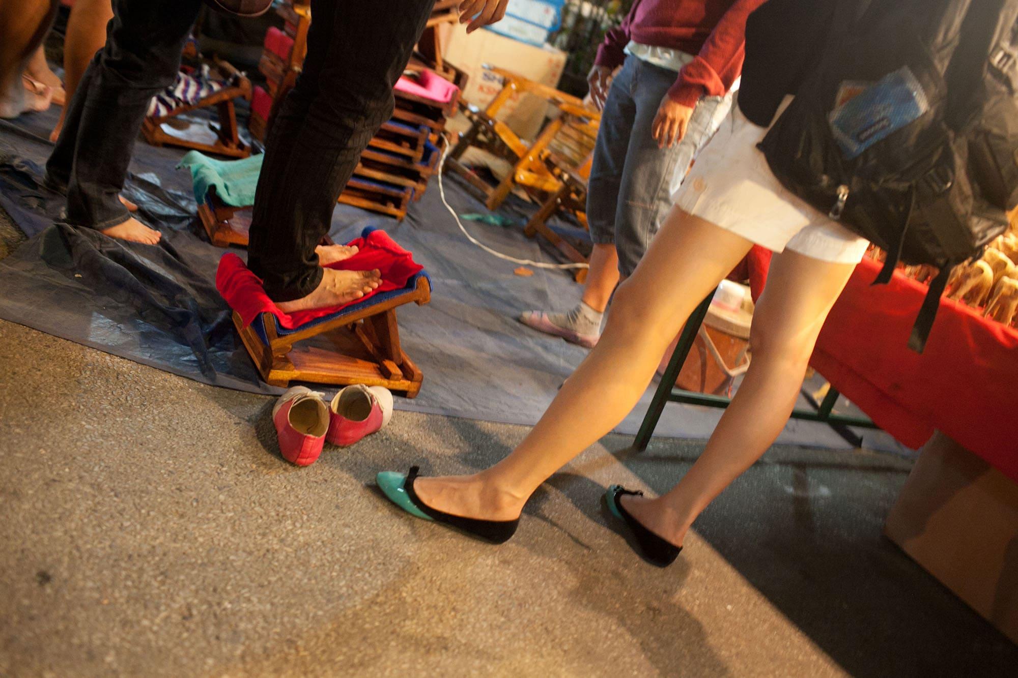 Saturday Market in Chiang Mai, Thailand