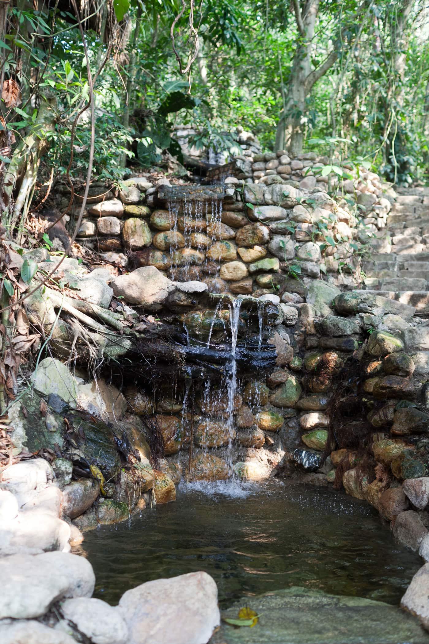 Hot springs in Copan Ruinas, Honduras