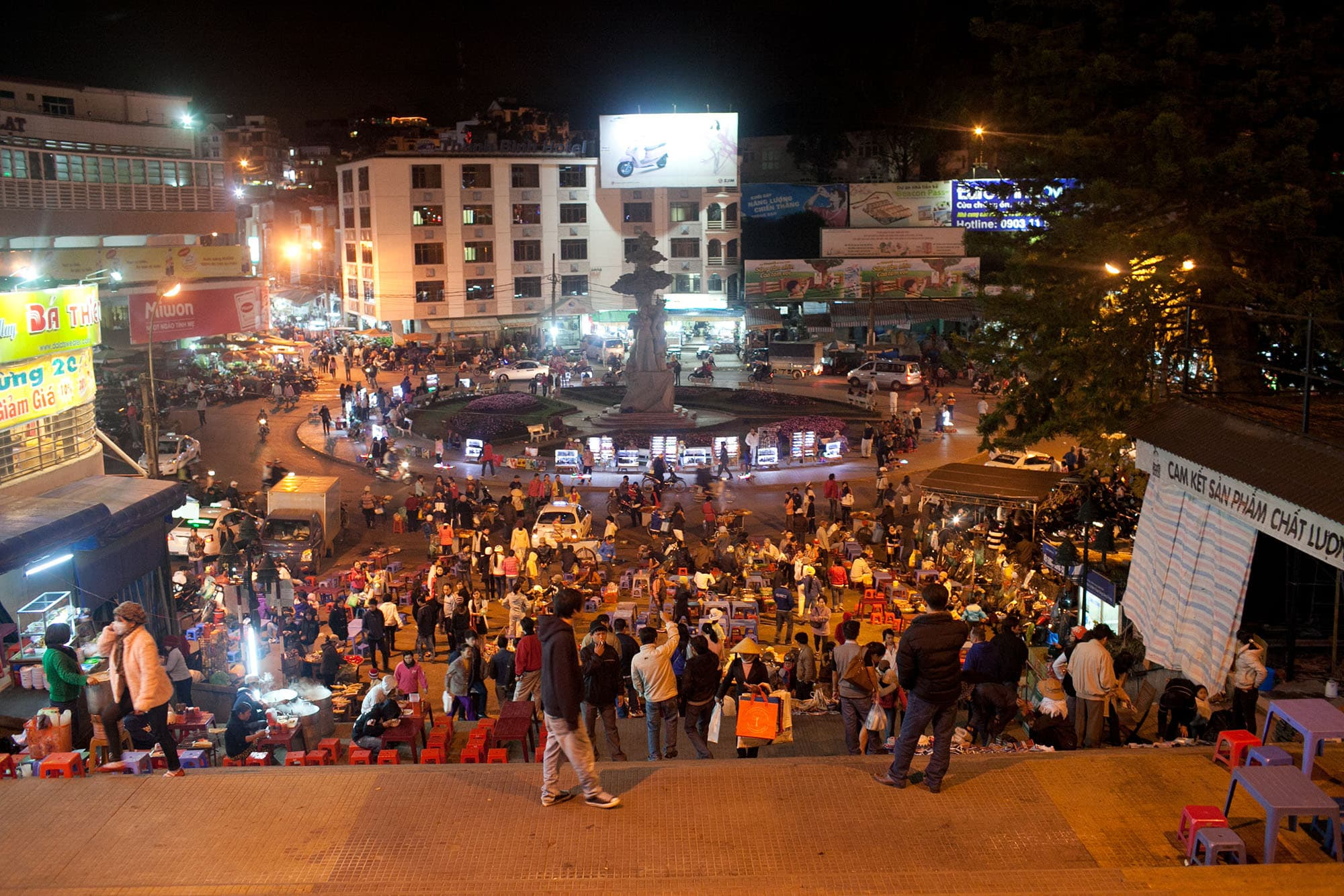 Central Market in Dalat, Vietnam
