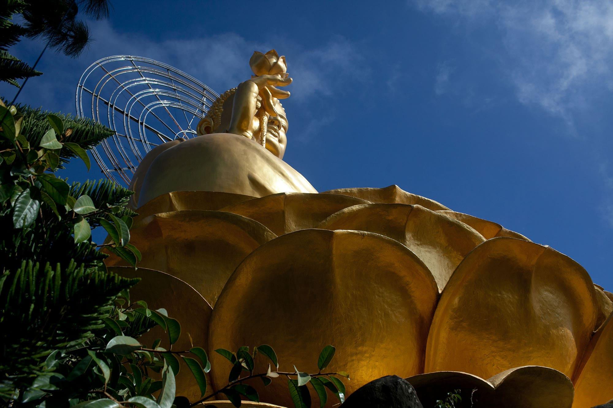 Giant Buddha in Dalat, Vietnam - Dalat Countryside Tour in Vietnam
