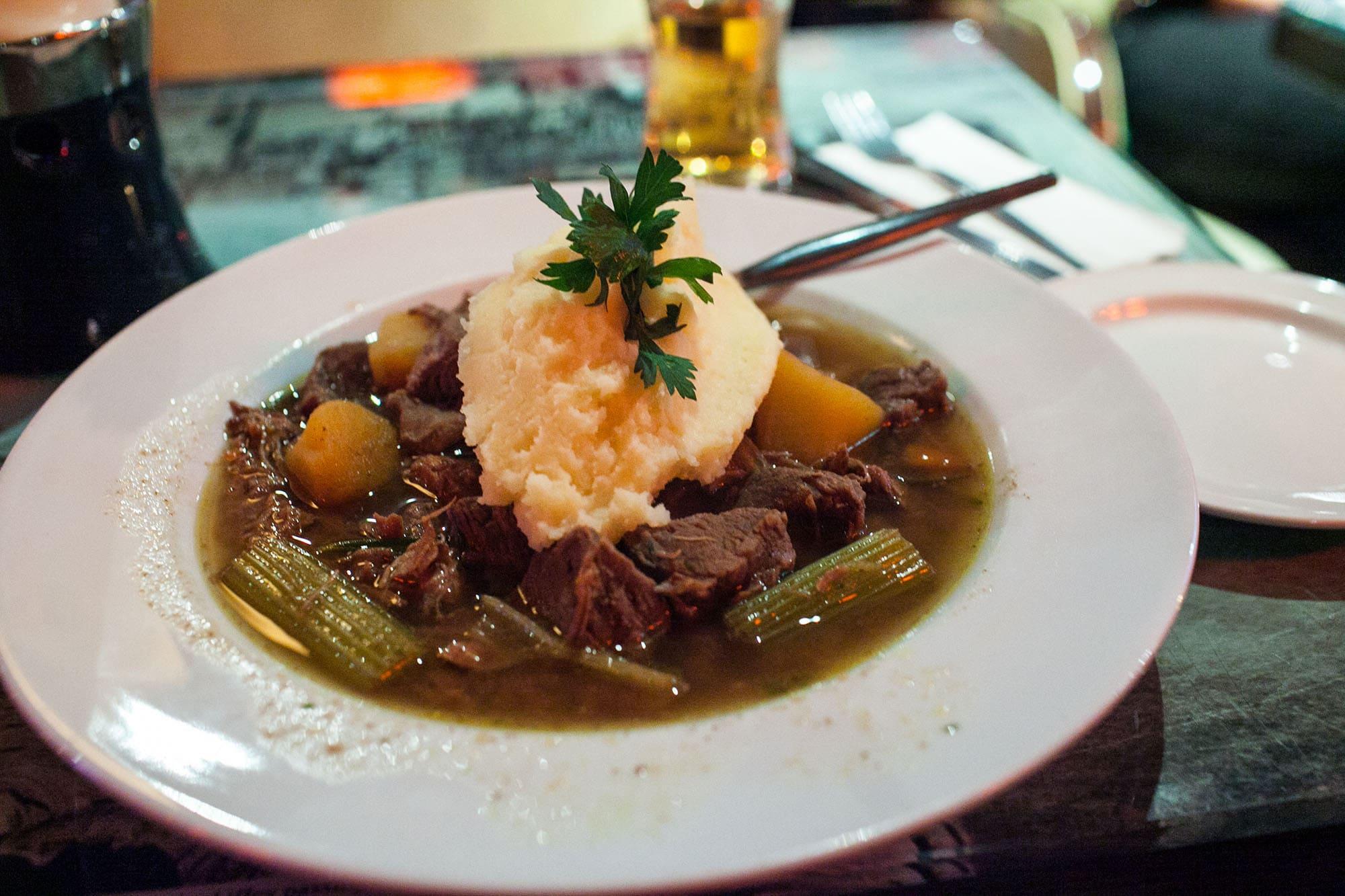 Beef stew - Dublin, Ireland