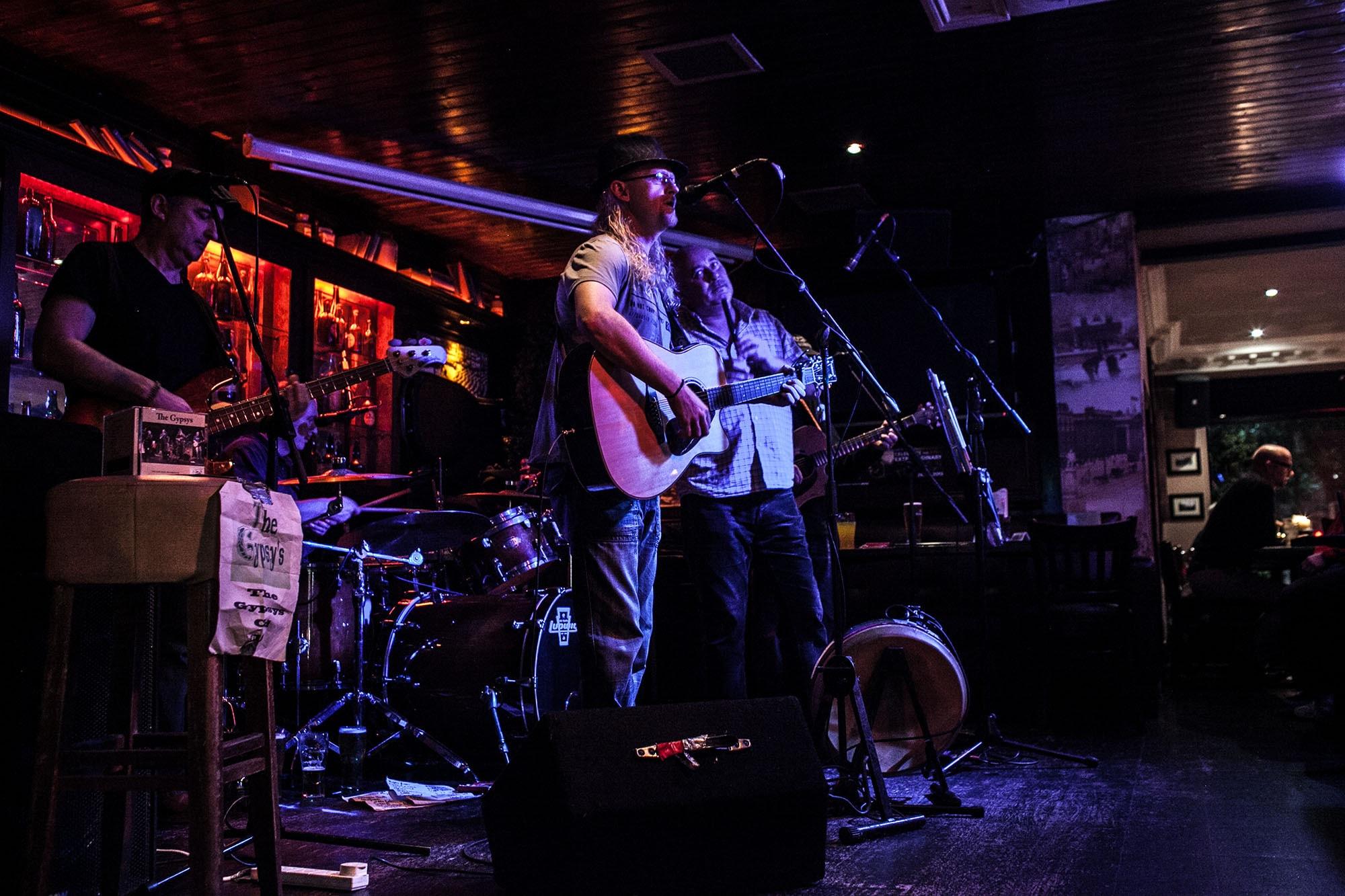 Band playing in a pub - Dublin, Ireland