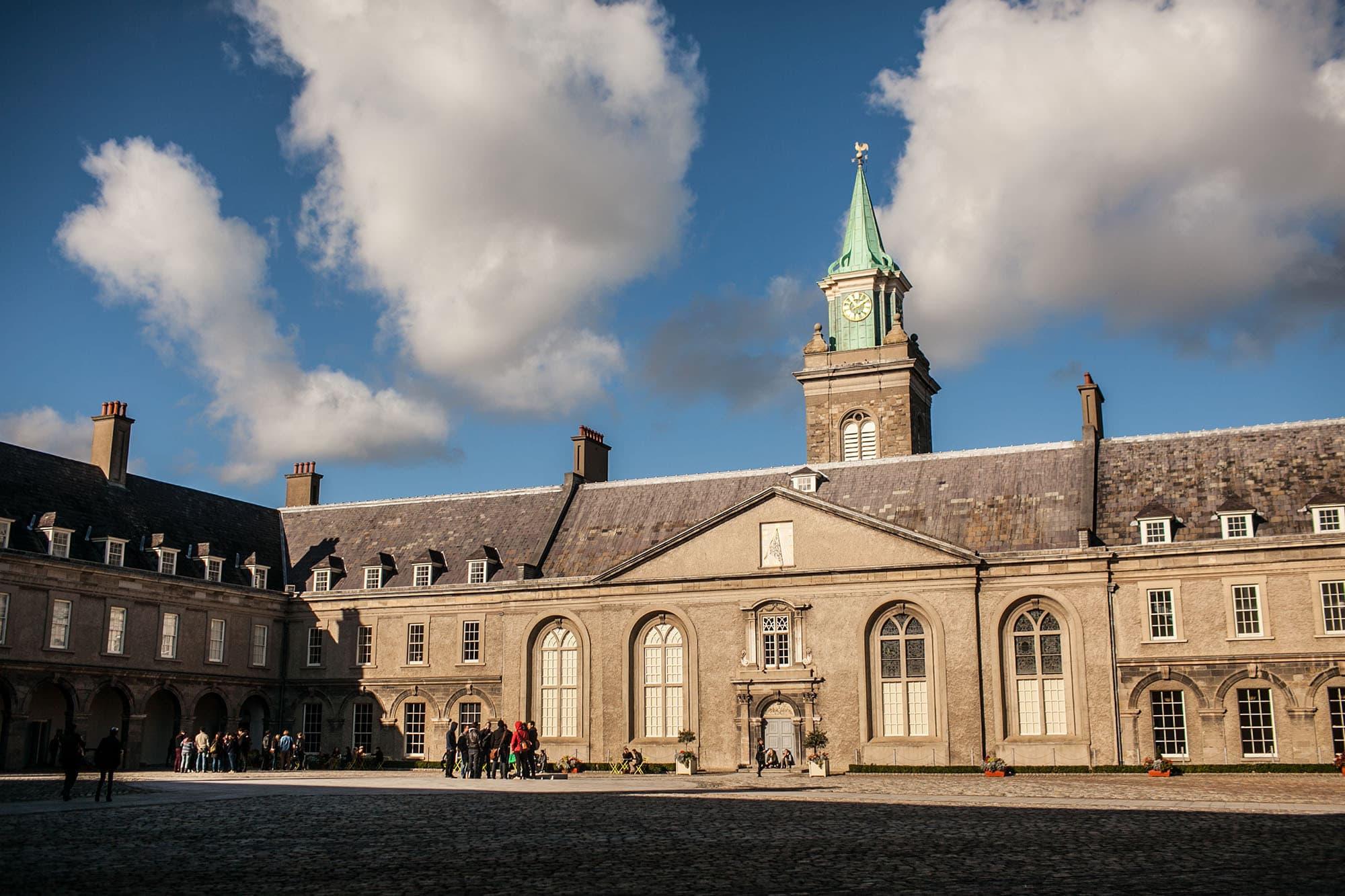 Modern art museum in Dublin, Ireland