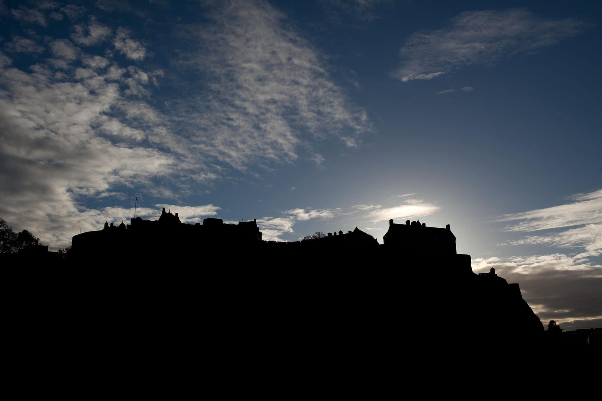 Edinburgh Castle in Edinburgh, Scotland