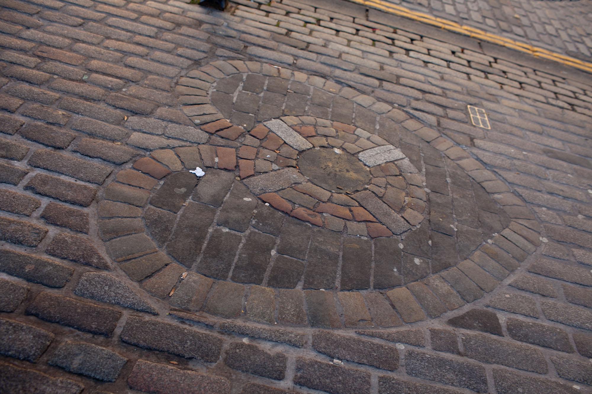 Heart of Midlothian in Edinburgh, Scotland