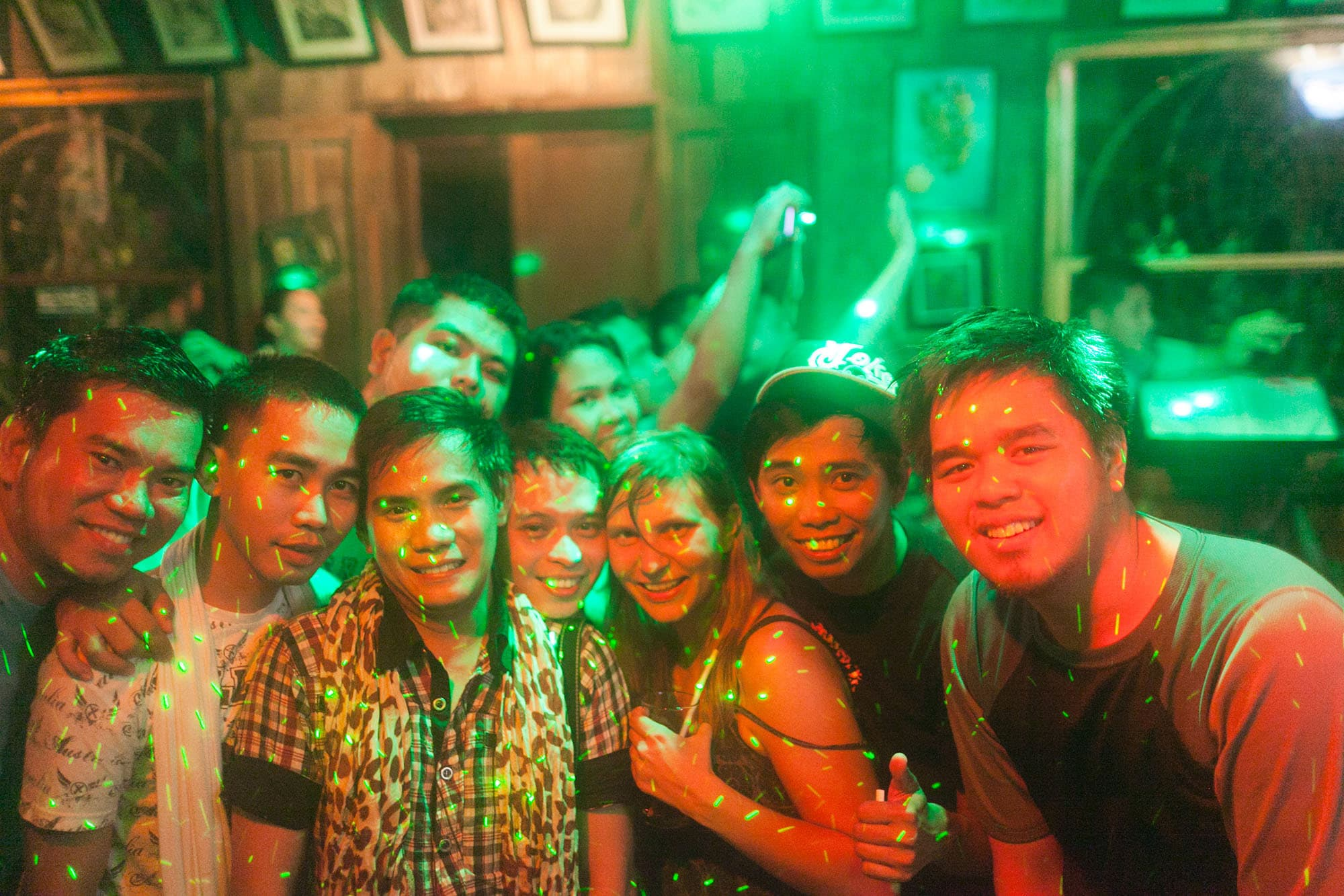 A night out at Balay Tubay in El Nido, Philippines.