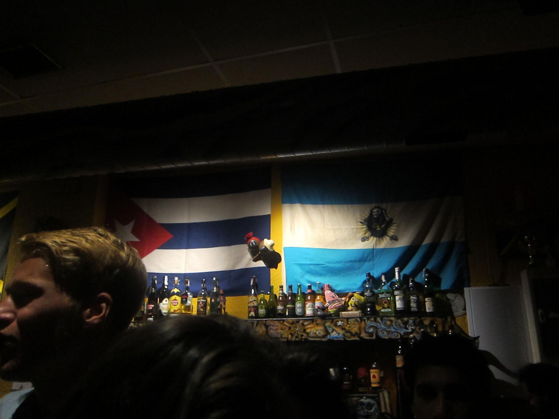 Bar in Granada, Spain.