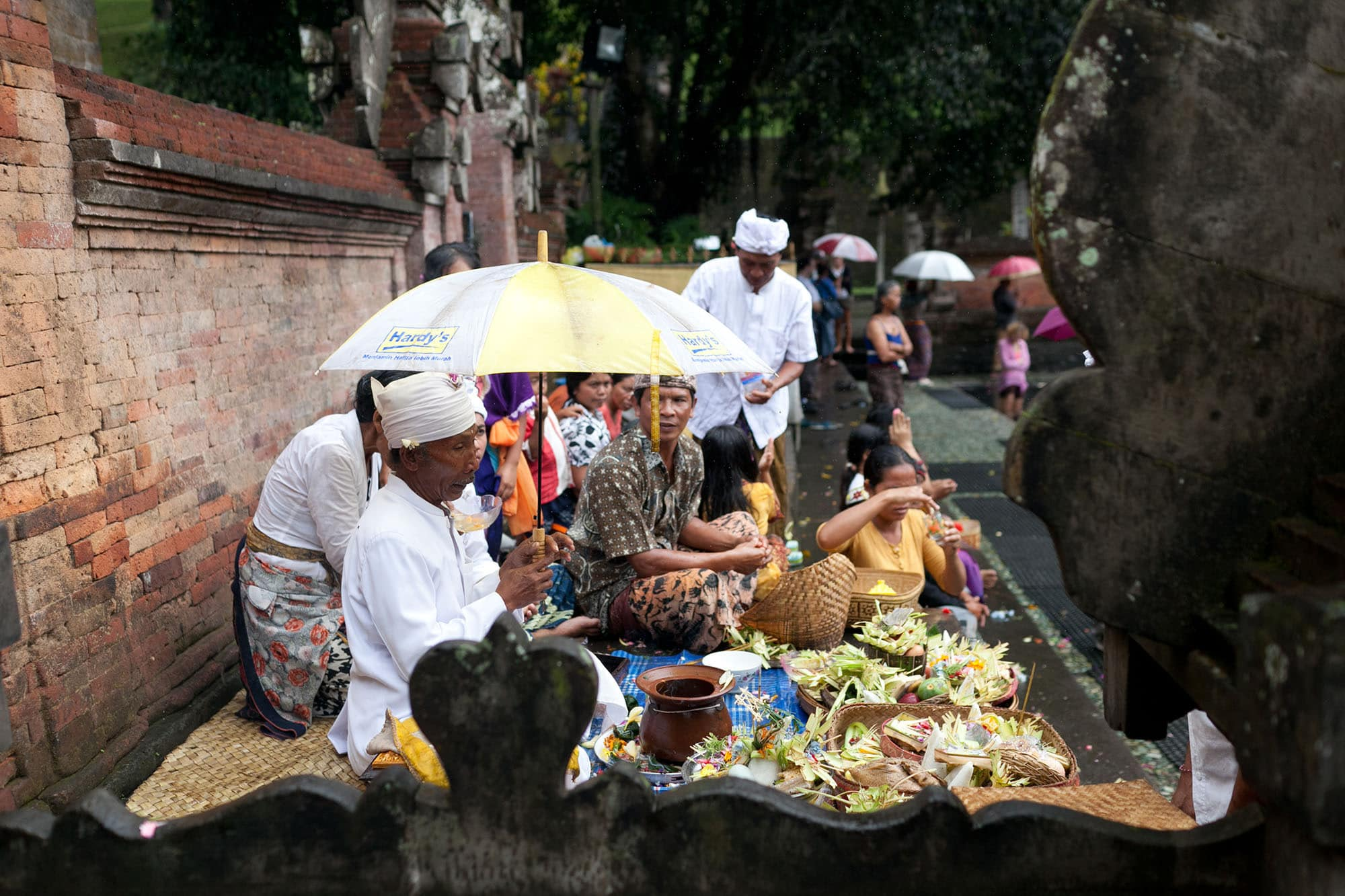 Tirta Empul Holy Springs in Bali, Indonesia