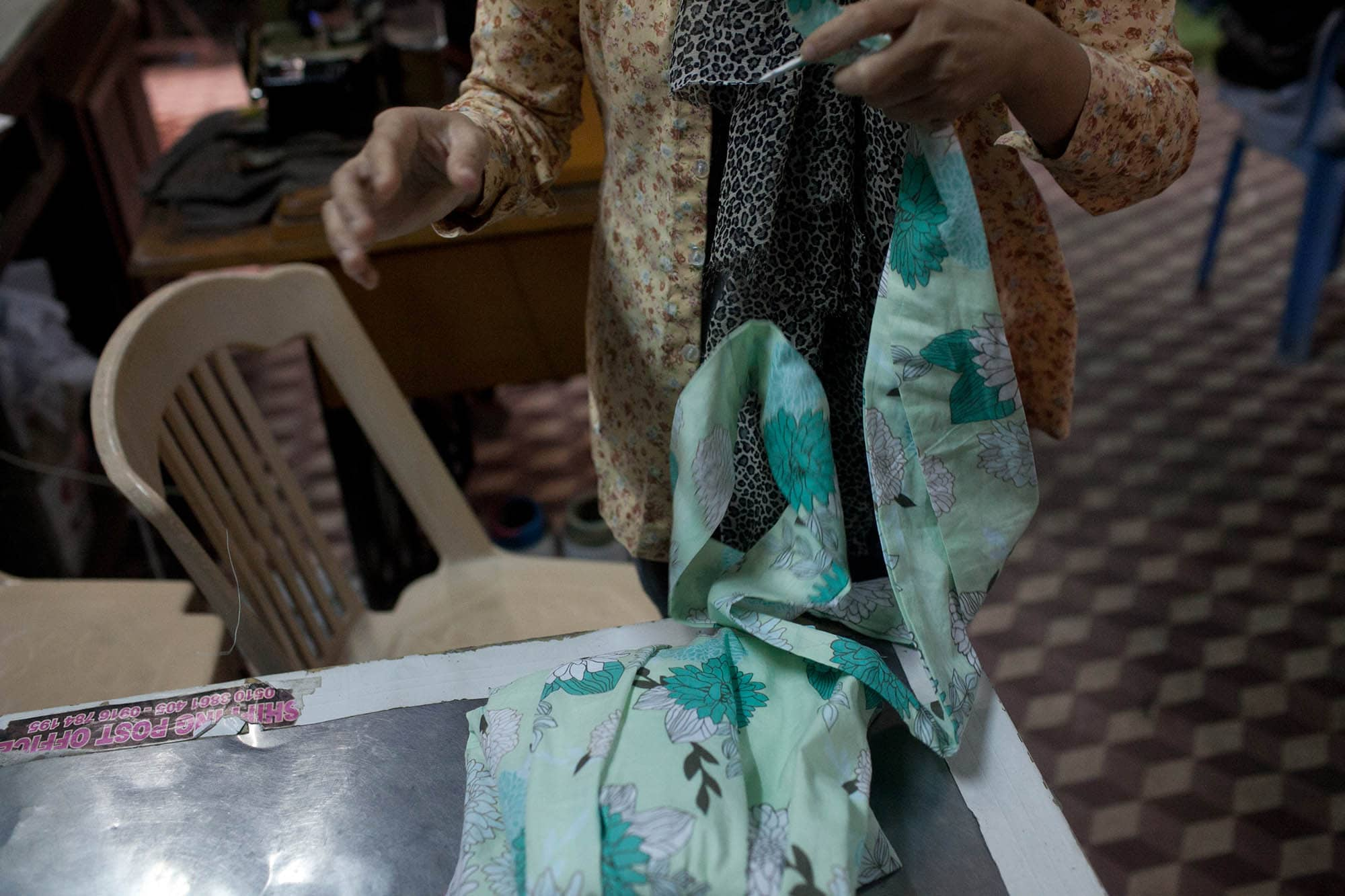 Shopping in Hoi An - Custom Tailored Dress from Miss Forget Me Not in Hoi An, Vietnam
