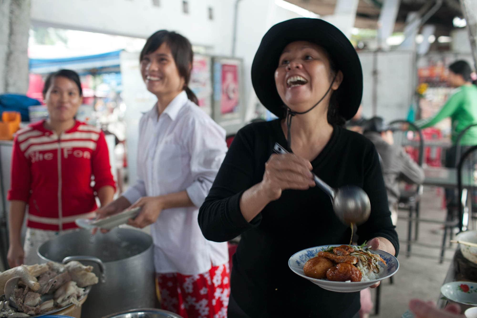 Lunch in Hue, Vietnam