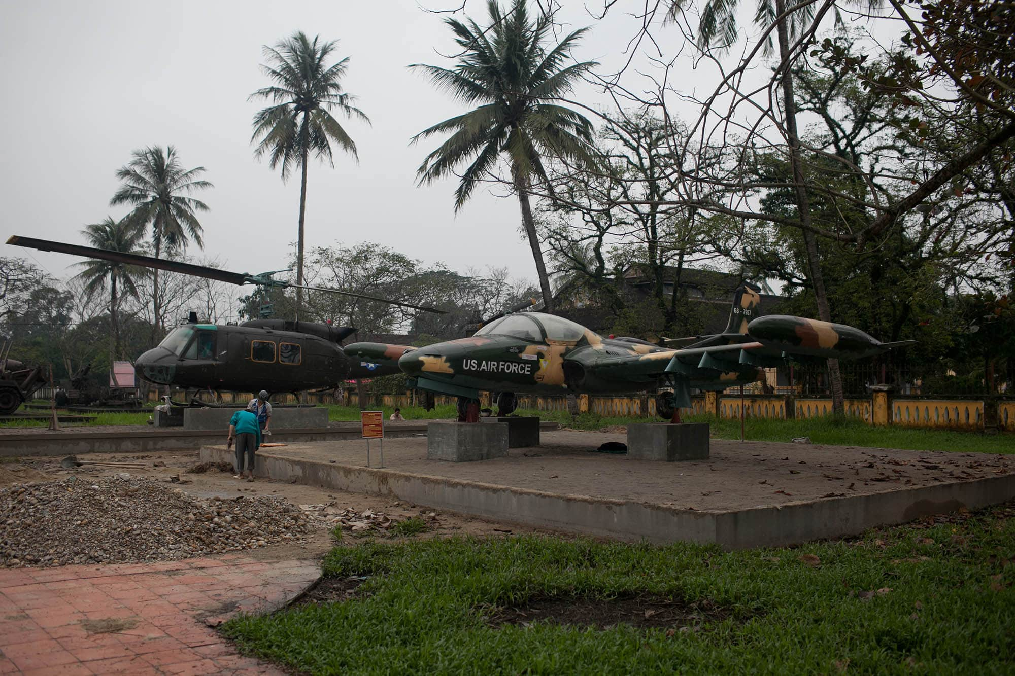 US Aircrafts in Hue, Vietnam