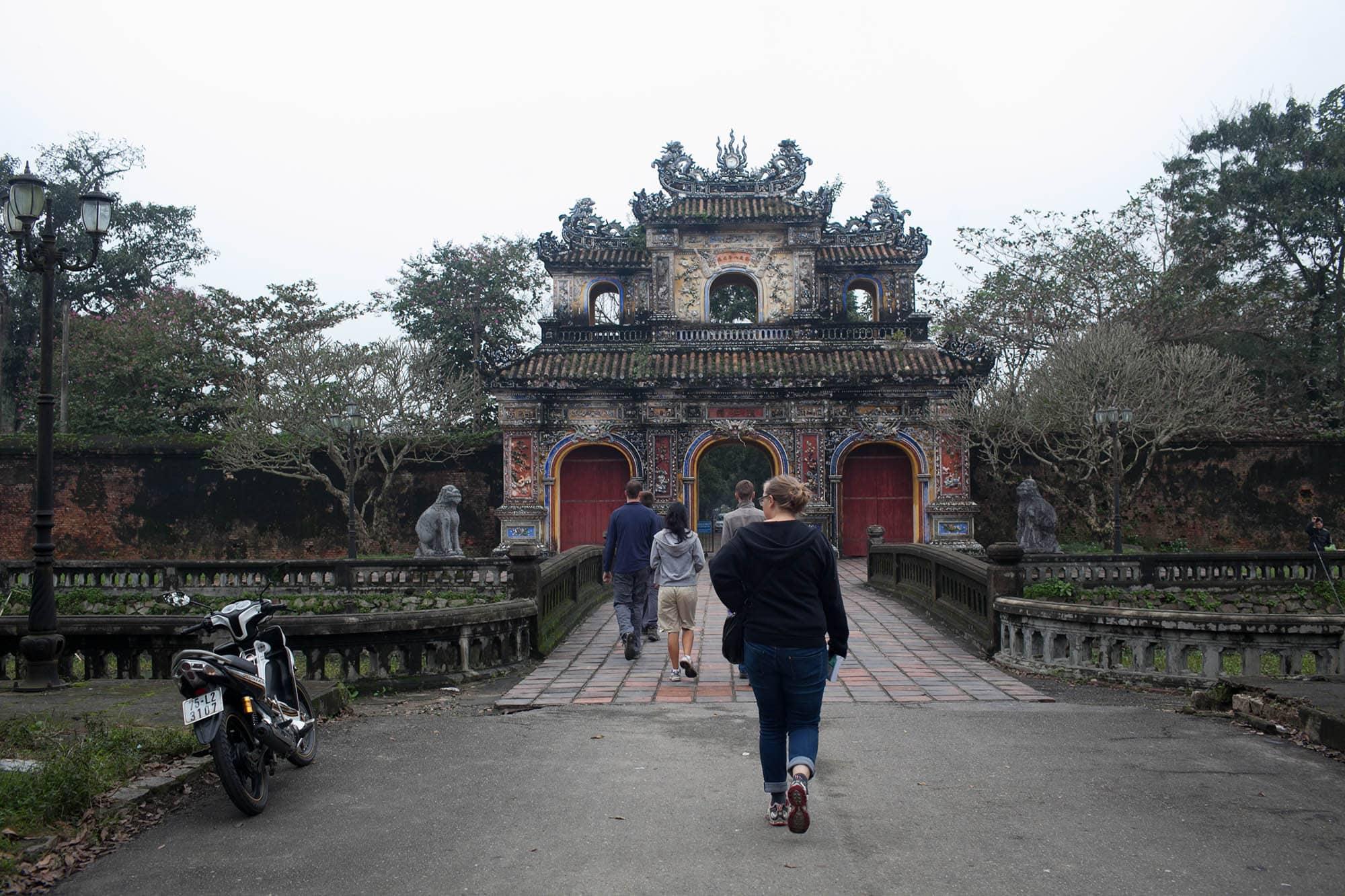 Citadel in Hue, Vietnam