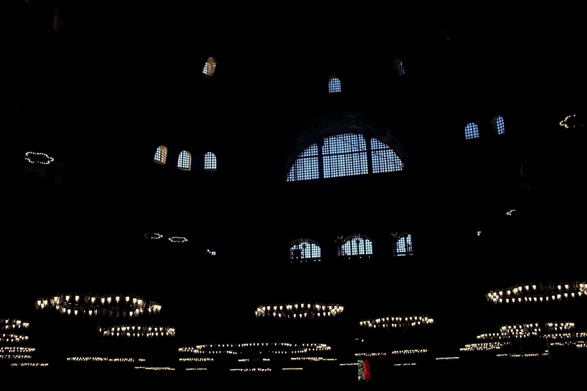 Hagia Sofia in Istanbul, Turkey.