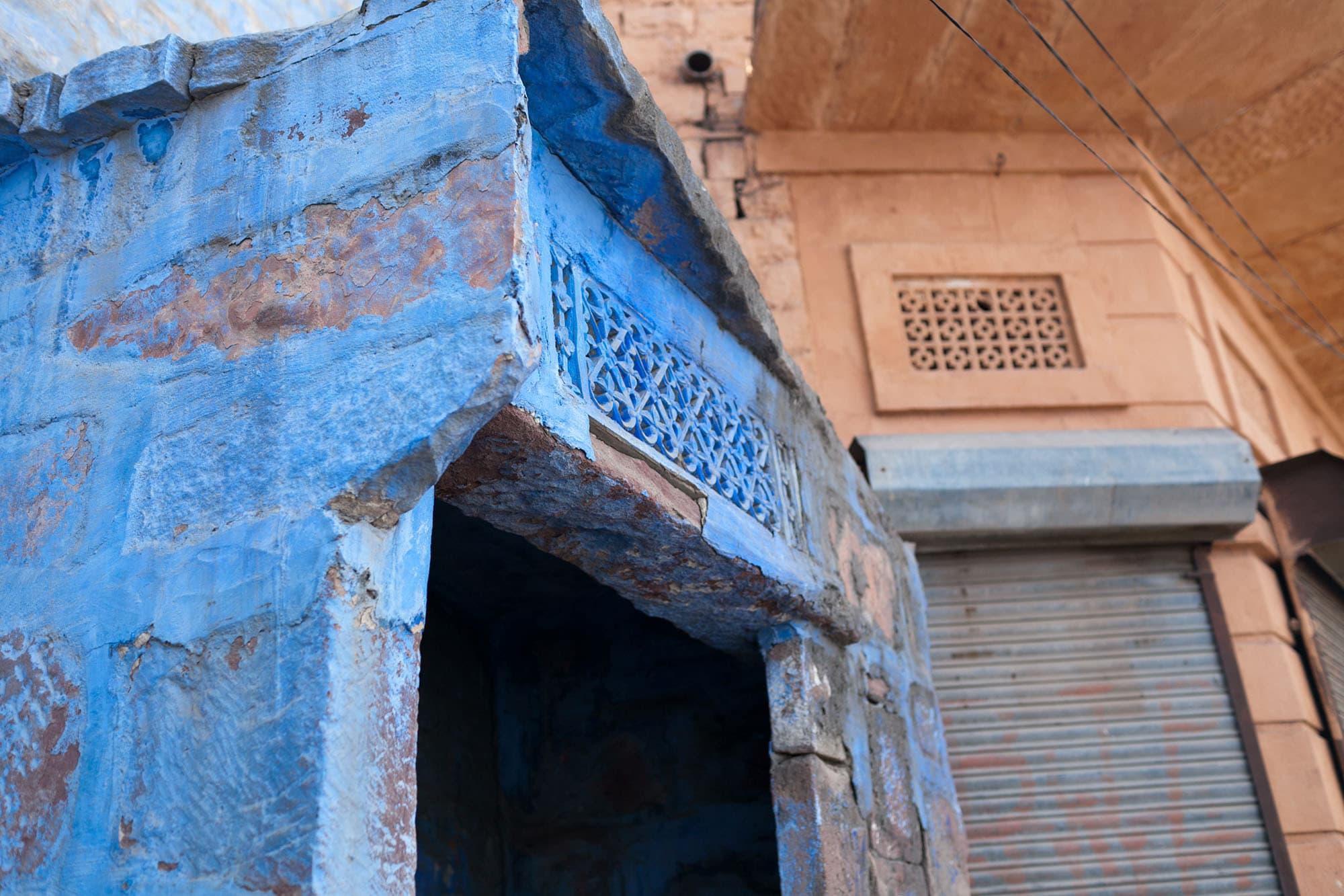 The Blue City of Jodhpur, India.