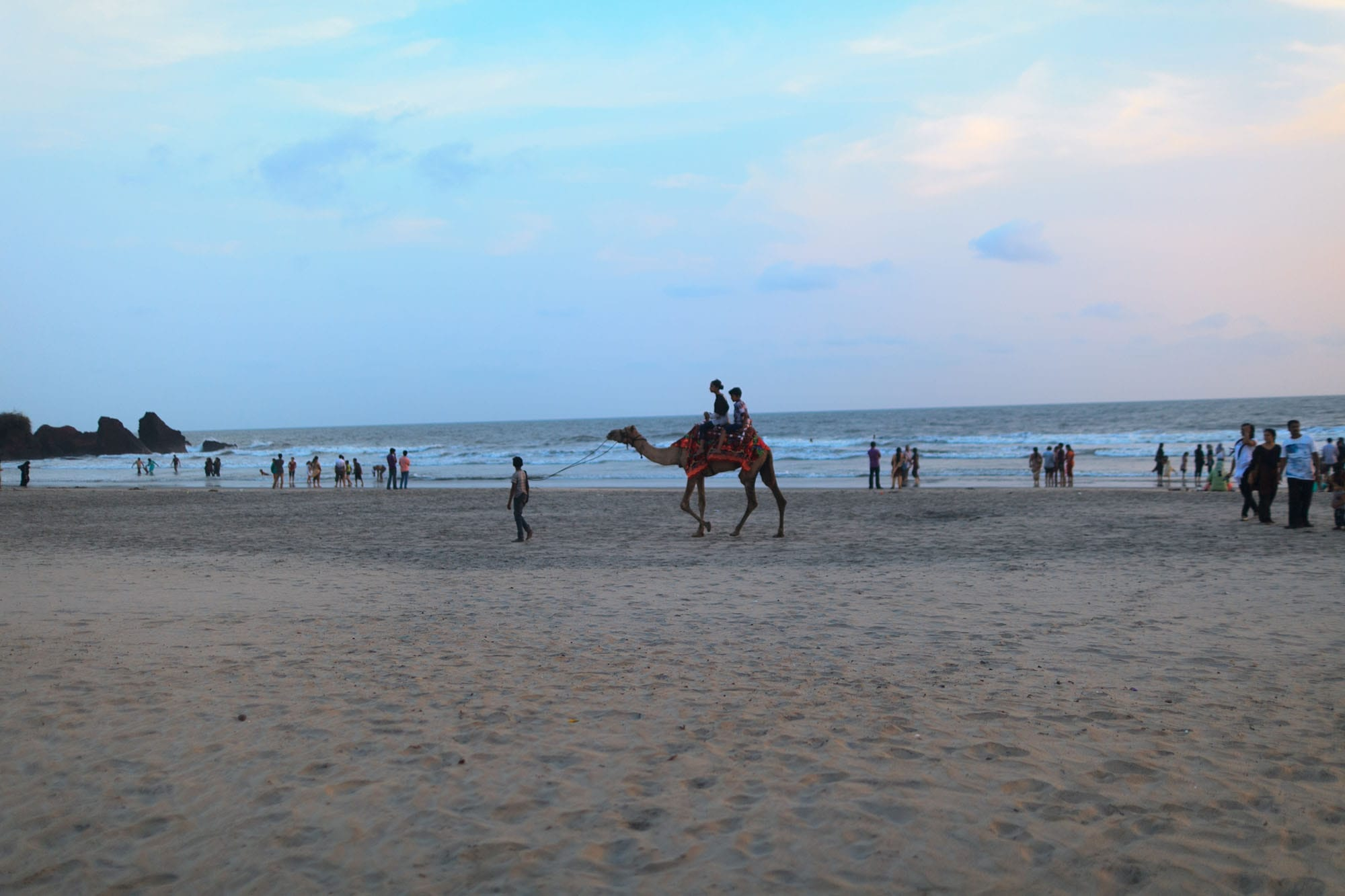 Beach in Kannur, India.