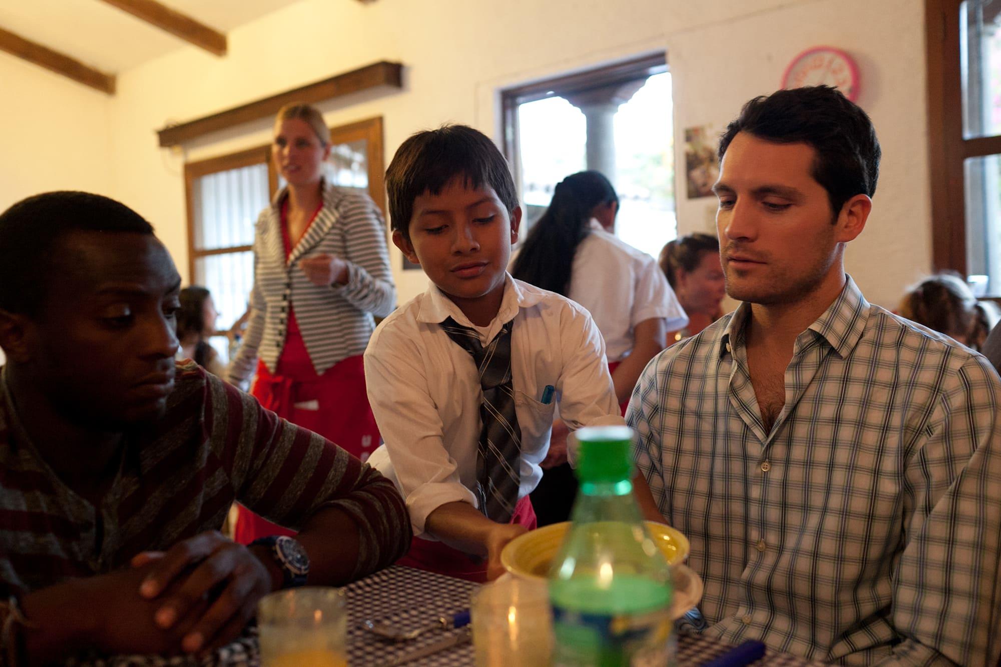 KIDS Restaurant in Antigua, Guatemala