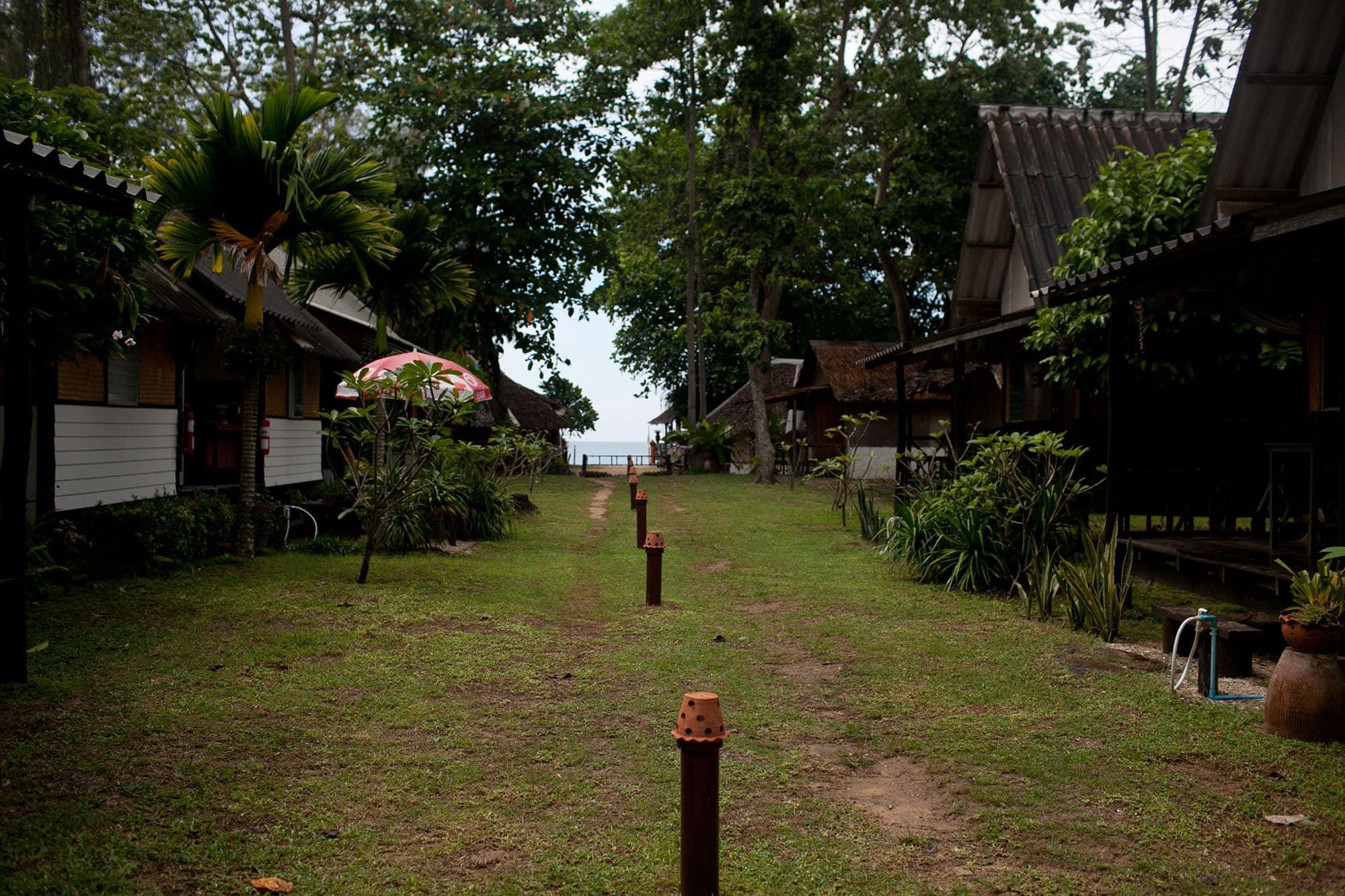 Our bungalow in paradise: Koh Lanta, Thailand