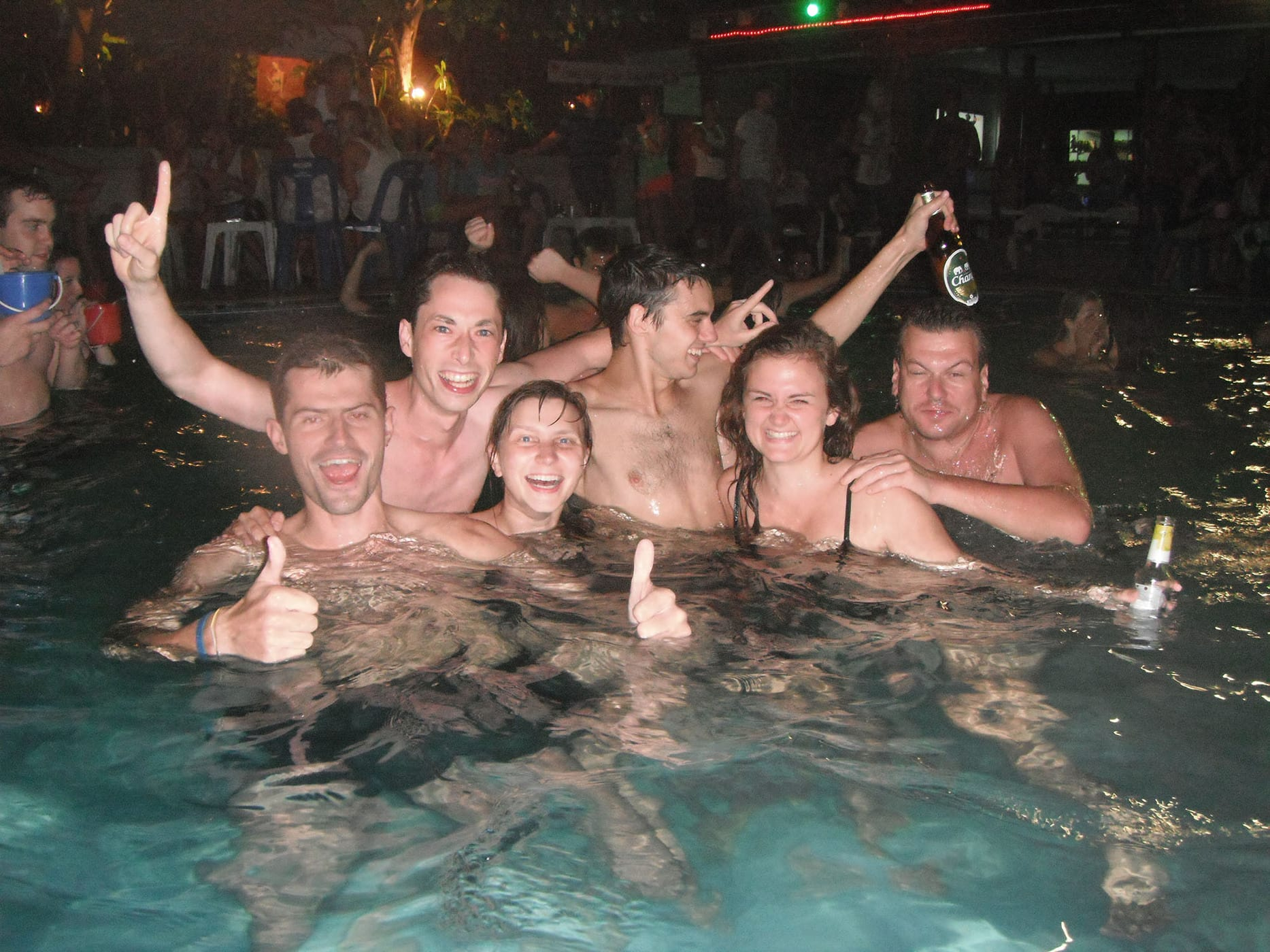Pool party in Koh Phangan, Thailand