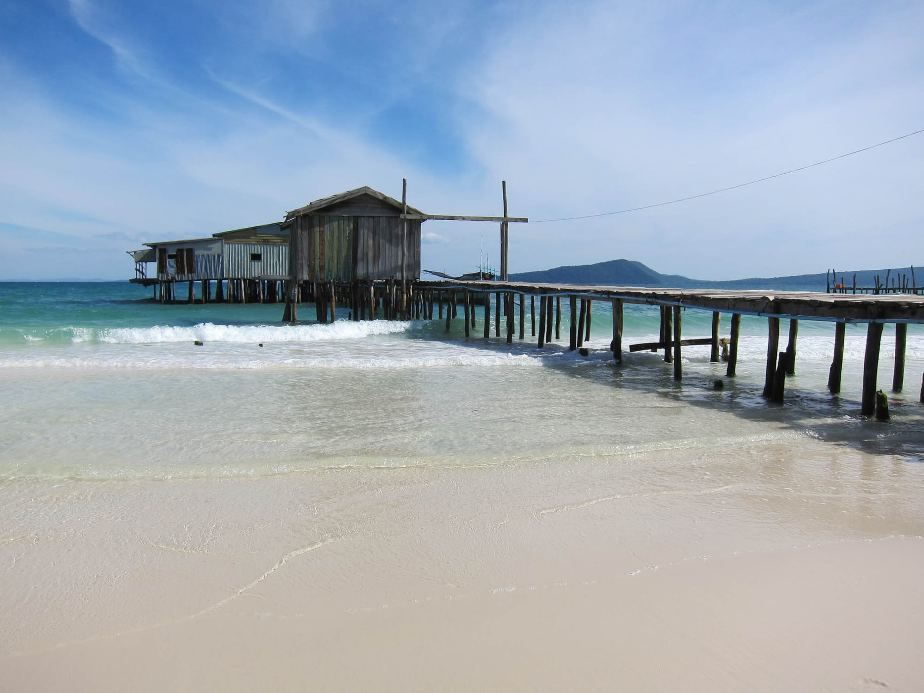 Koh Rong Island in Cambodia