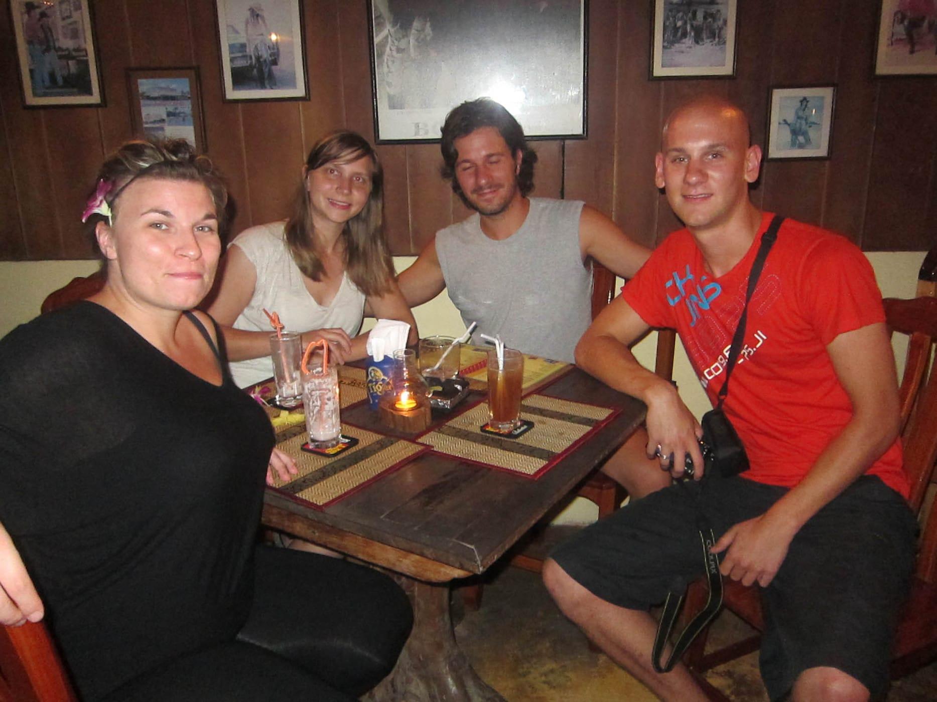 JUST LET THINGS HAPPEN -- Drinking in Krabi, Thailand