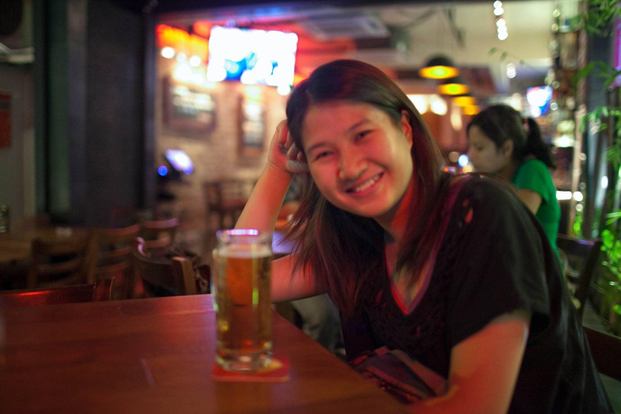 Tiger Beer in Kuala Lumpur, Malaysia