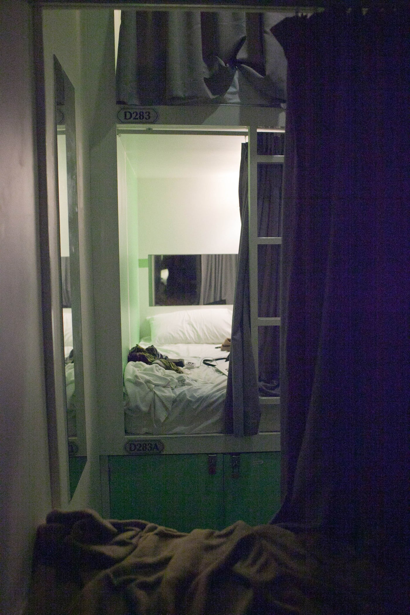 Fort Beds at Reggae Mansion in Kuala Lumpur, Malaysia