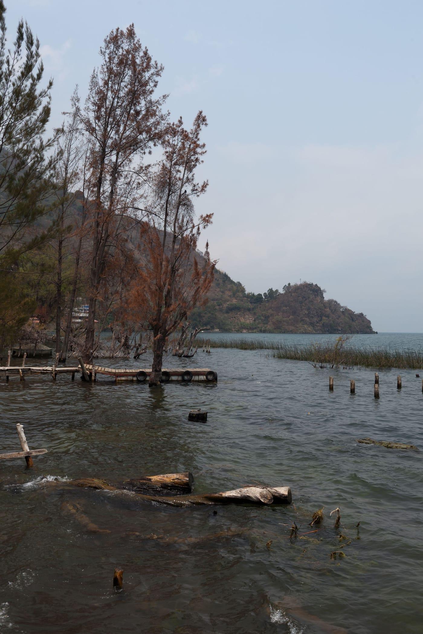 San Marcos on Lake Atitlan in Guatemala