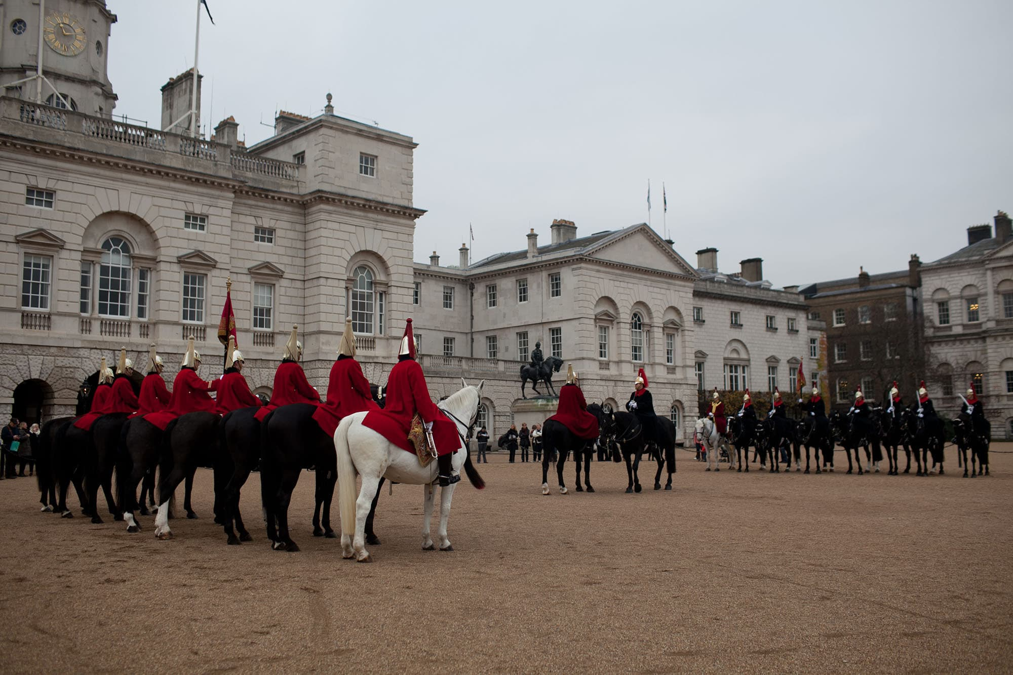 Horse Guards Parade in London, England
