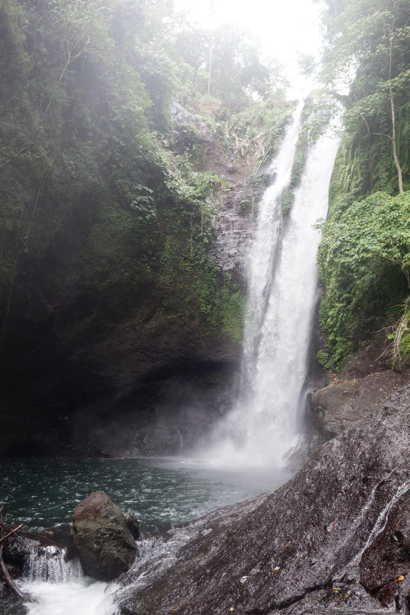 Waterfall near Lovina, Bali