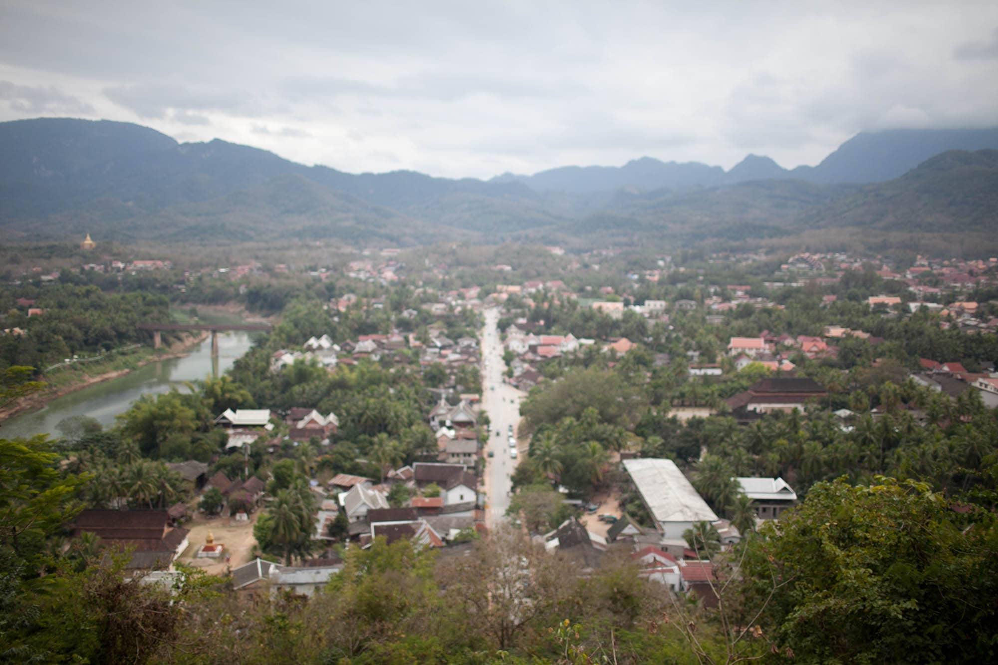 Temple in Luang Prabang, Laos.