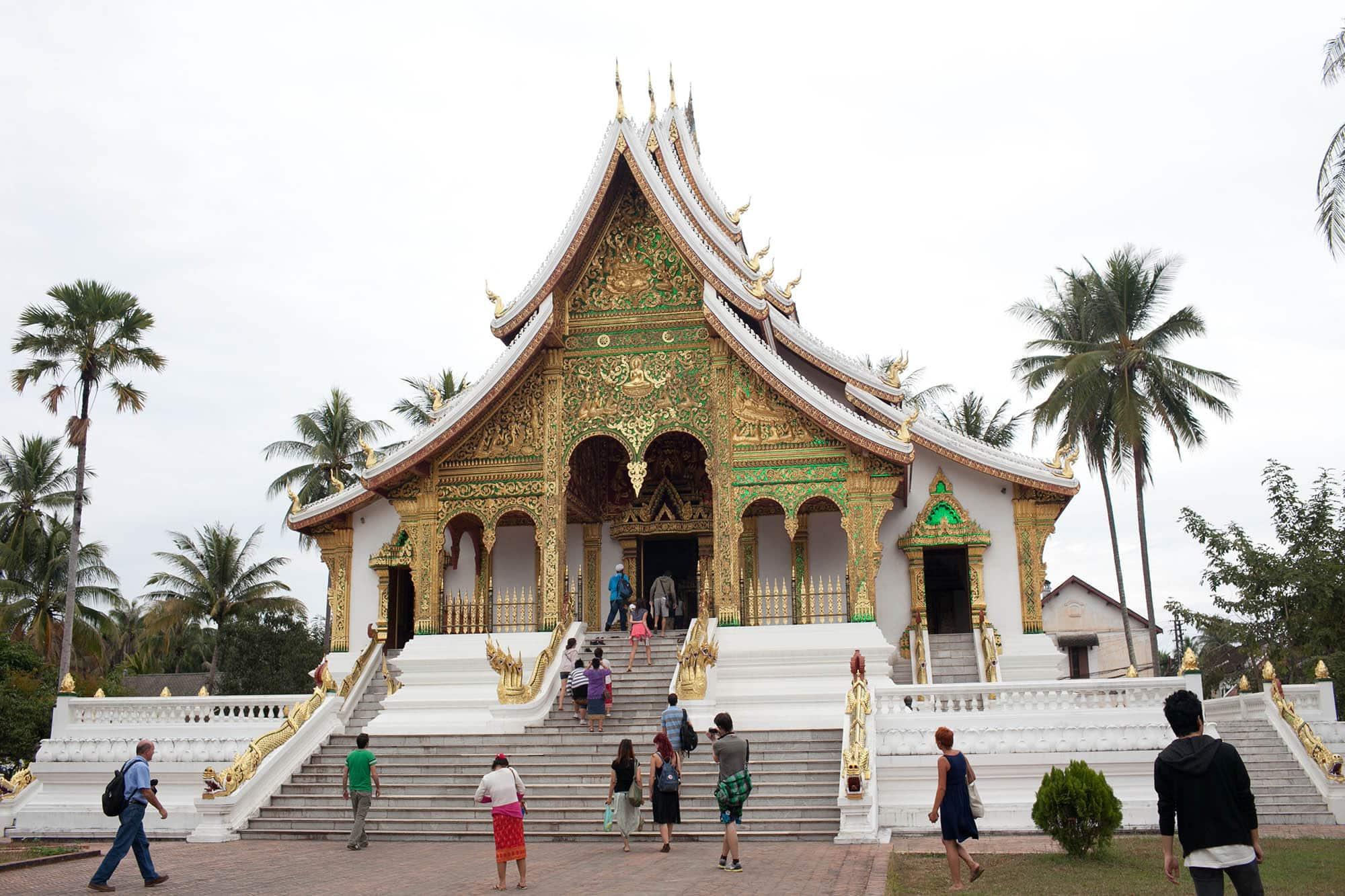 Museum in Luang Prabang, Laos.